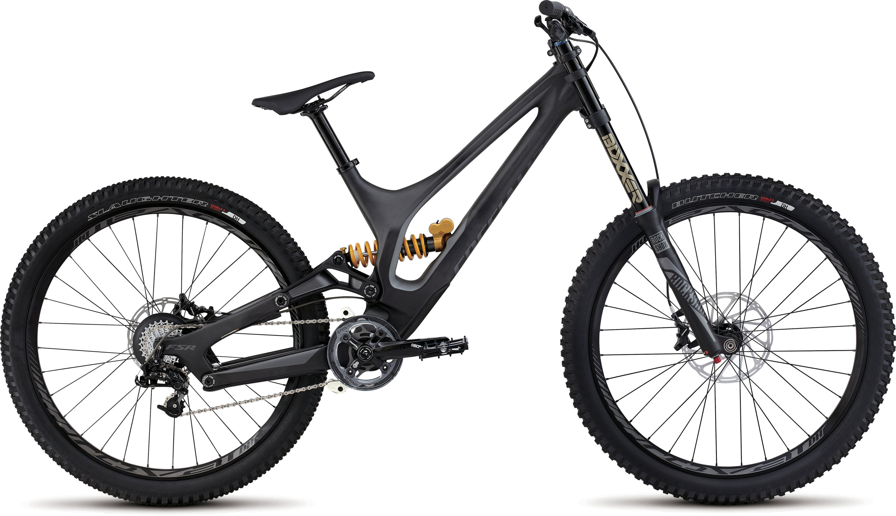 SPECIALIZED DEMO 8 FSR I CARBON 650B CARB/CHAR SH - Bikedreams & Dustbikes