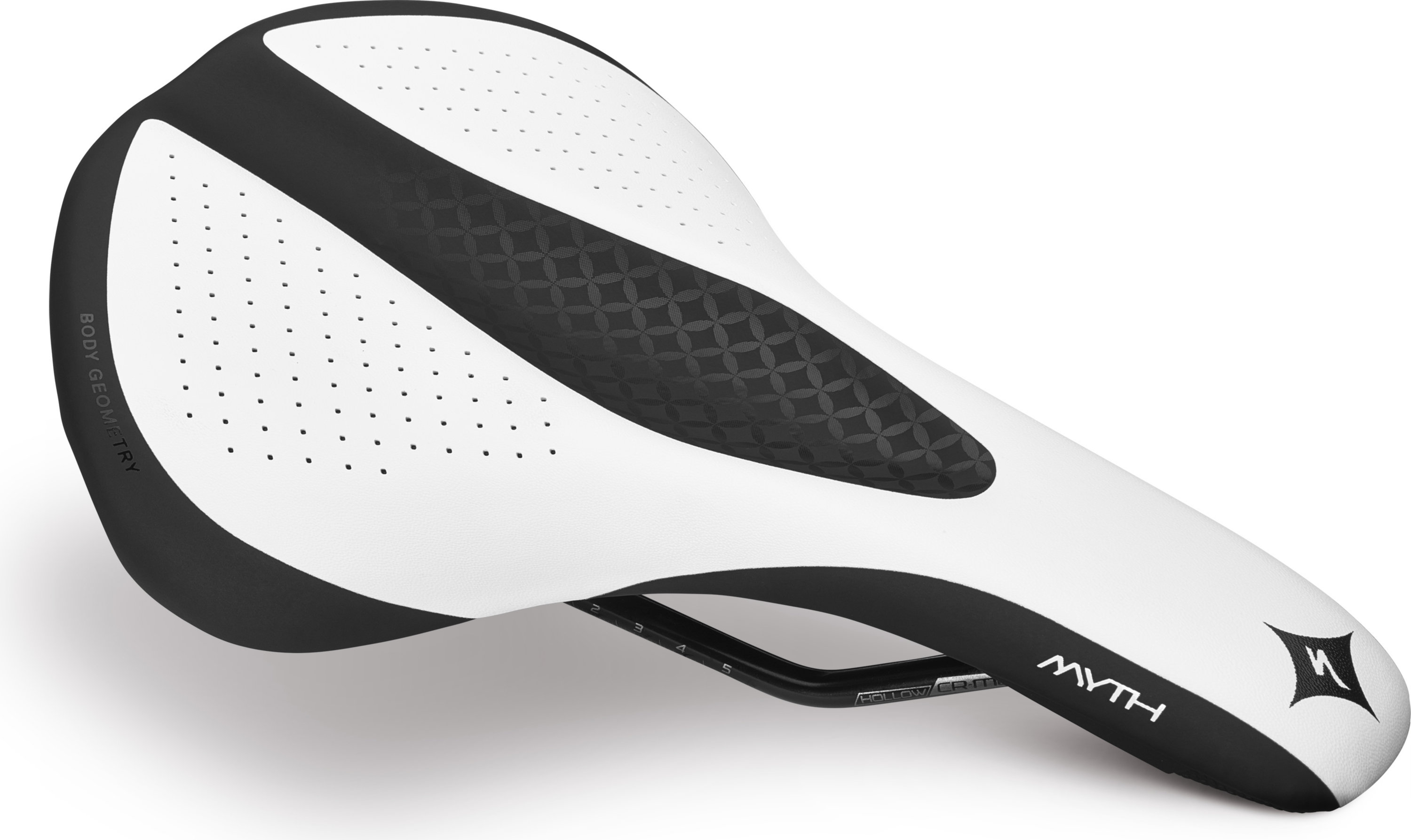 SPECIALIZED MYTH COMP SADDLE WMN WHT 143 - Alpha Bikes