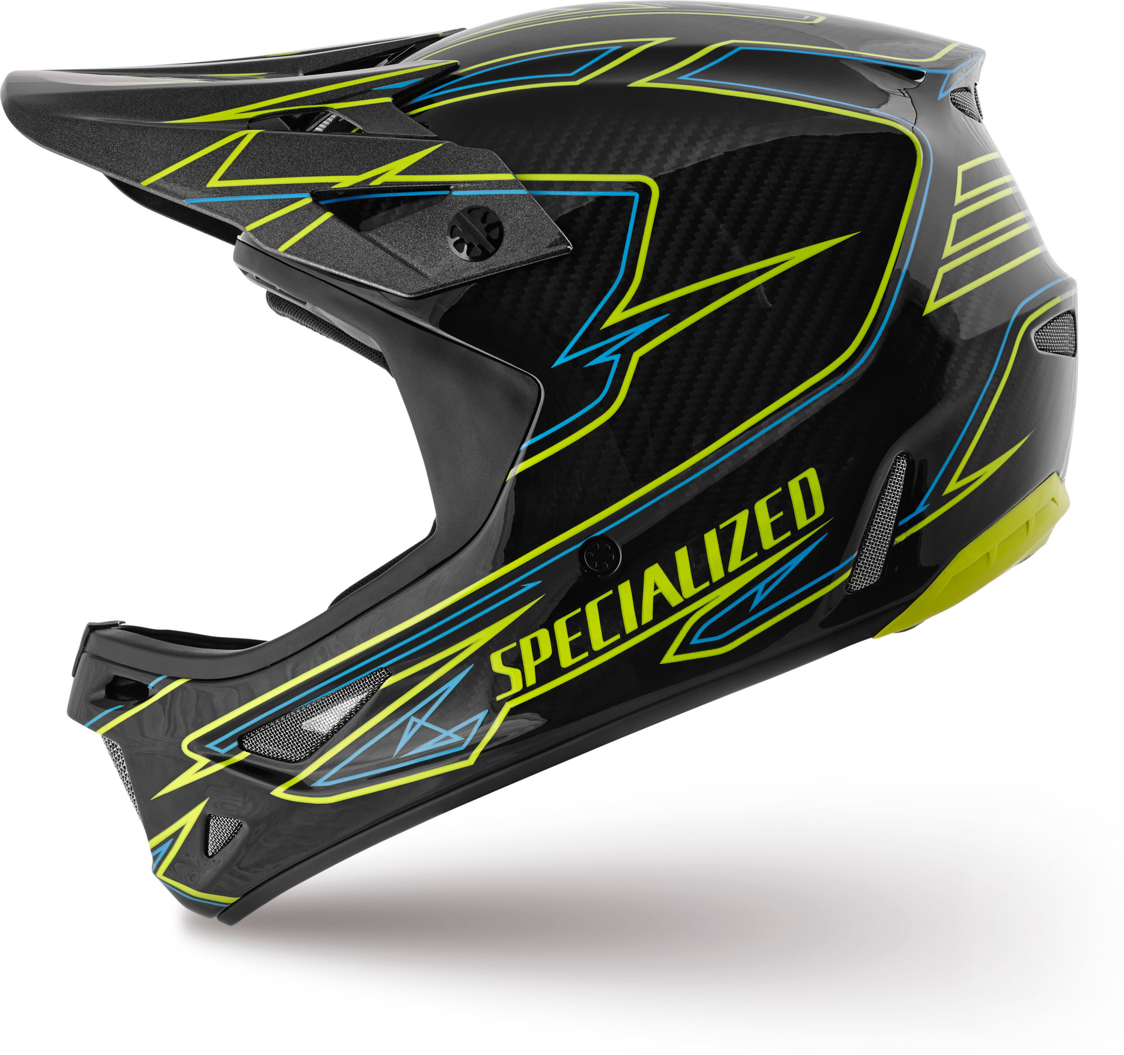 Specialized Dissident Hyper Green/Neon Blue Transmit L - Specialized Dissident Hyper Green/Neon Blue Transmit L