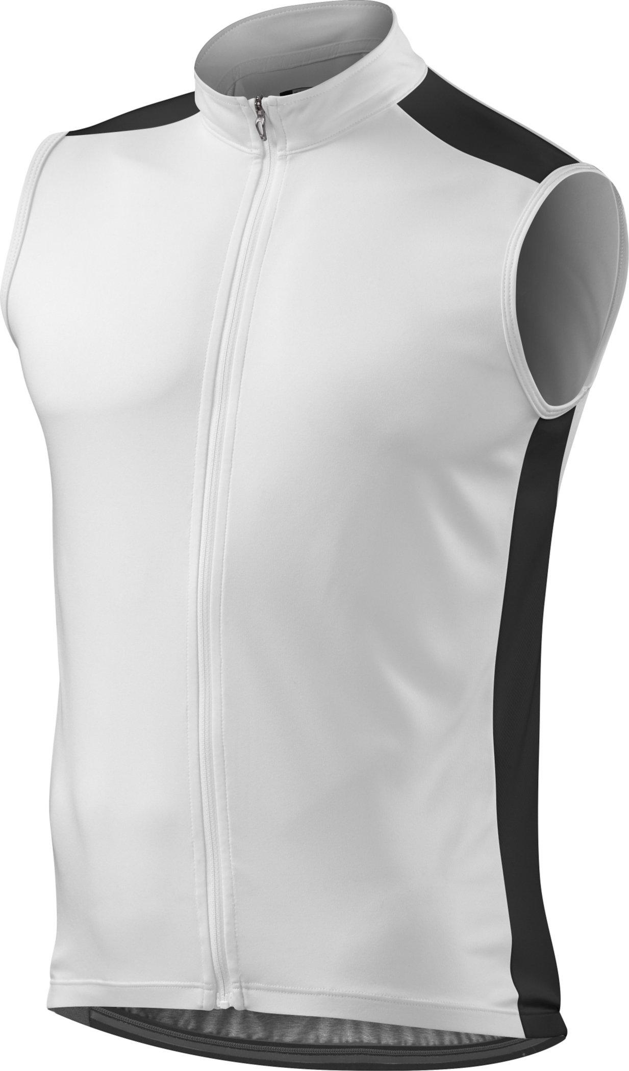 Specialized RBX Sport Sleeveless Jersey White/Black Medium - Alpha Bikes