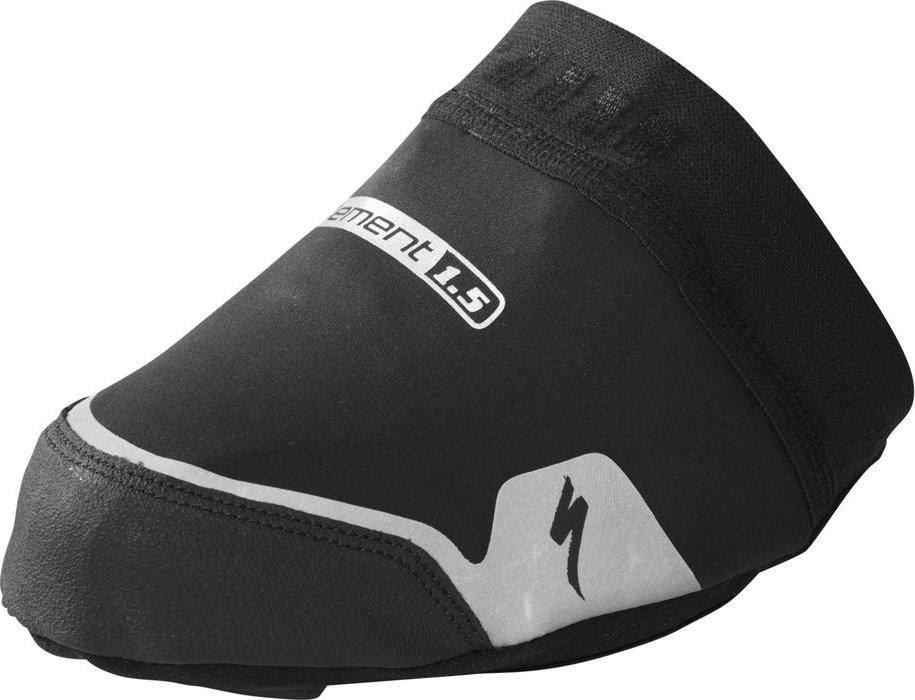 Specialized Element WINDSTOPPER® Toe Covers Black  (L/XL) 44-48> - Alpha Bikes