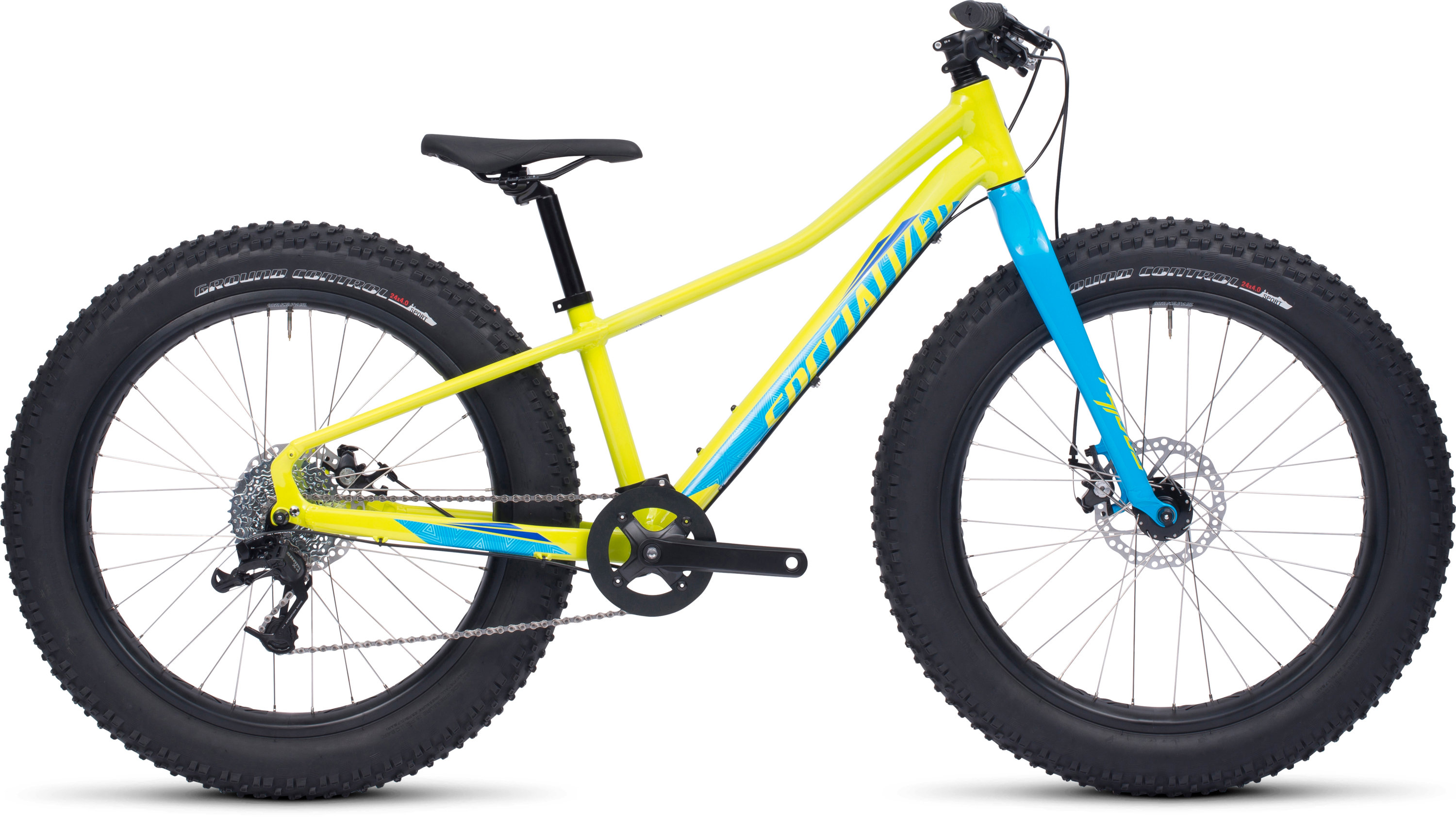 Specialized FATBOY 24 Gloss Hyper/Cyan/Royal Blue 12 - Alpha Bikes