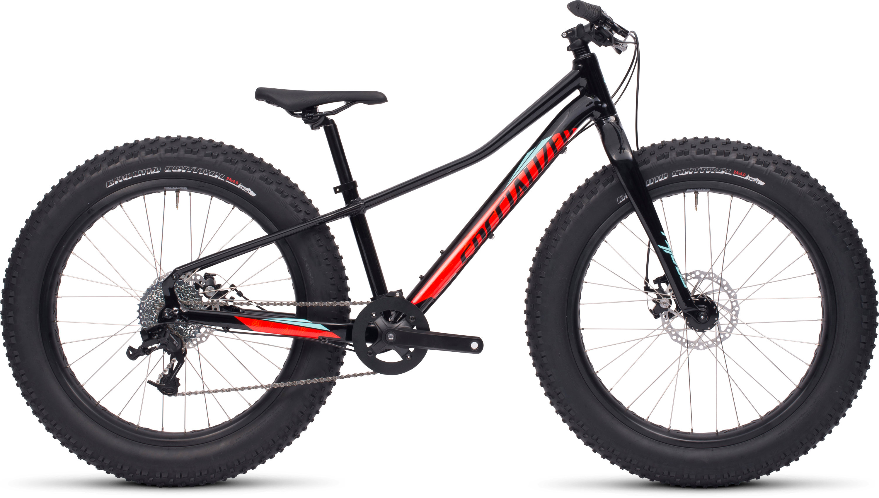 SPECIALIZED FATBOY 24 BLK/RKTRED/TEAL 12 - Bikedreams & Dustbikes