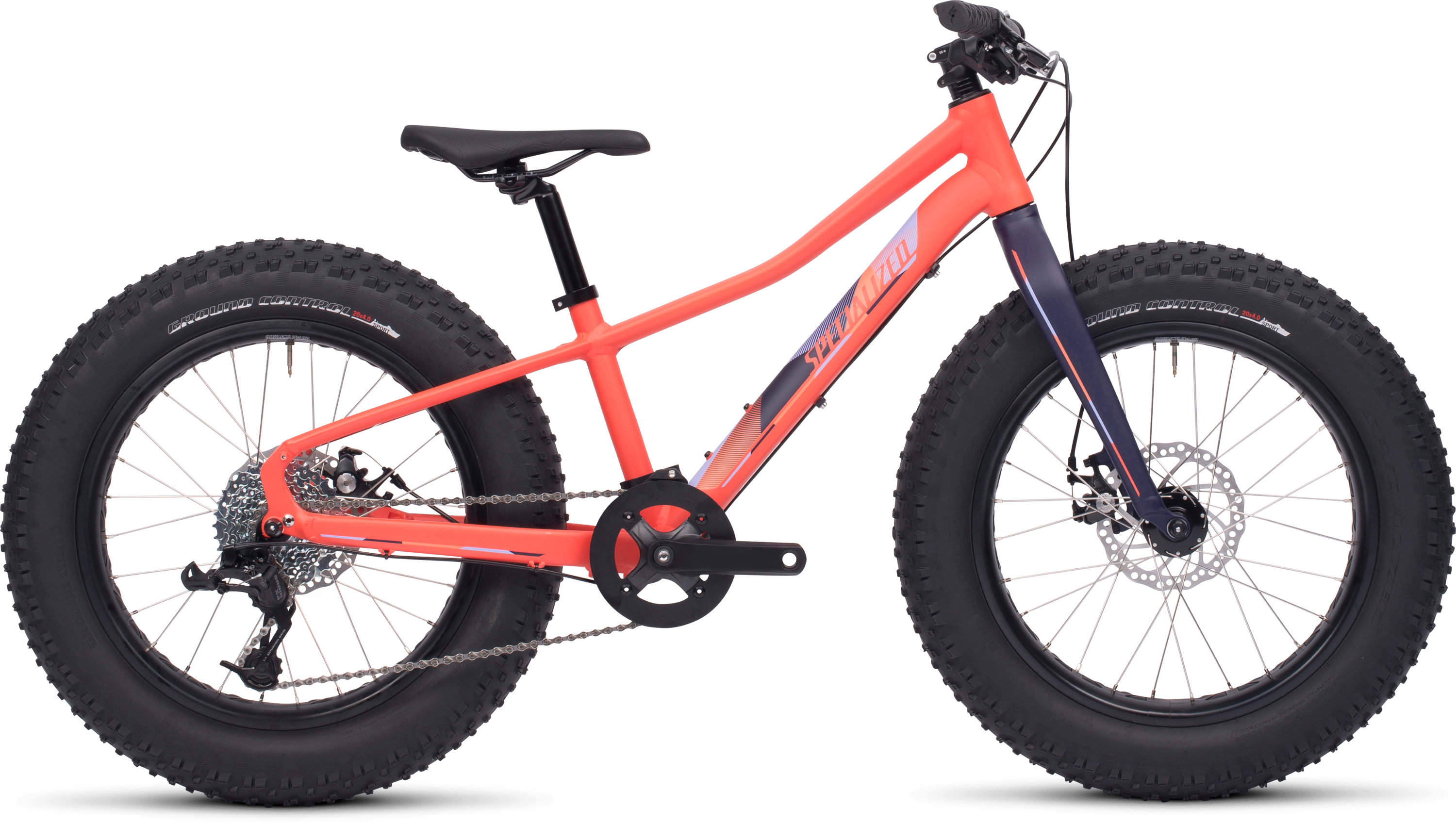 Specialized Fatboy 20 Satin Coral/Deep Indigo/Powder Indigo/Powder Coral 11 - Alpha Bikes