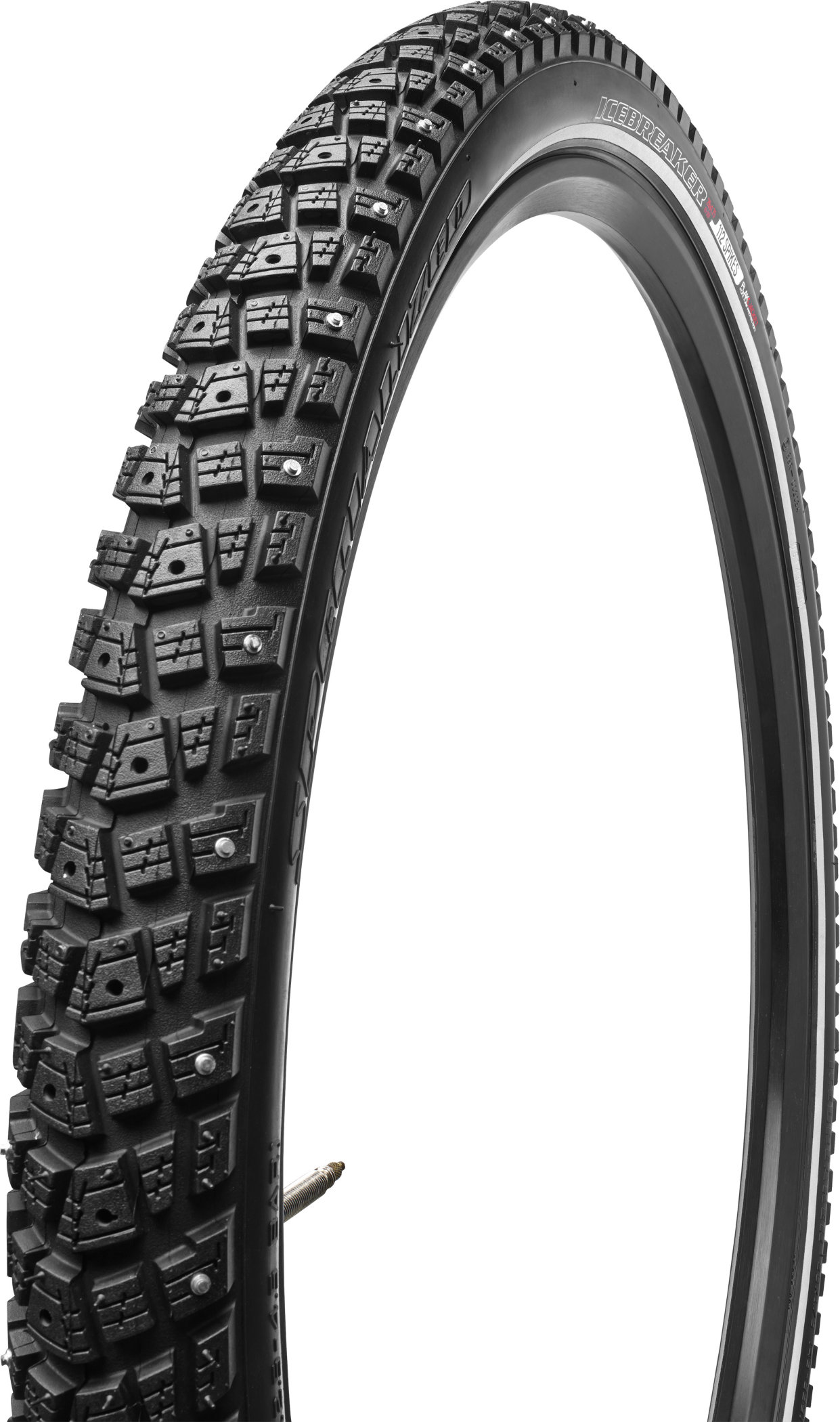 SPECIALIZED ICEBREAKER 138 PARTIAL STUD REFLECT TIRE 700X38C - SPECIALIZED ICEBREAKER 138 PARTIAL STUD REFLECT TIRE 700X38C