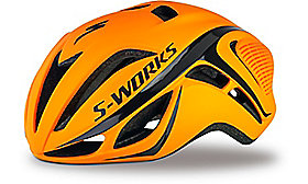 S-WORKS EVADE TRI HELMET CE NEON ORG ASIA L/XL