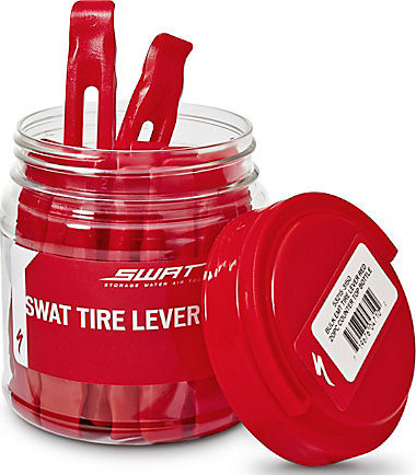 SPECIALIZED SWAT TIRE LEVER RED 20PC COUNTER TOP BOTTLE - Bikedreams & Dustbikes