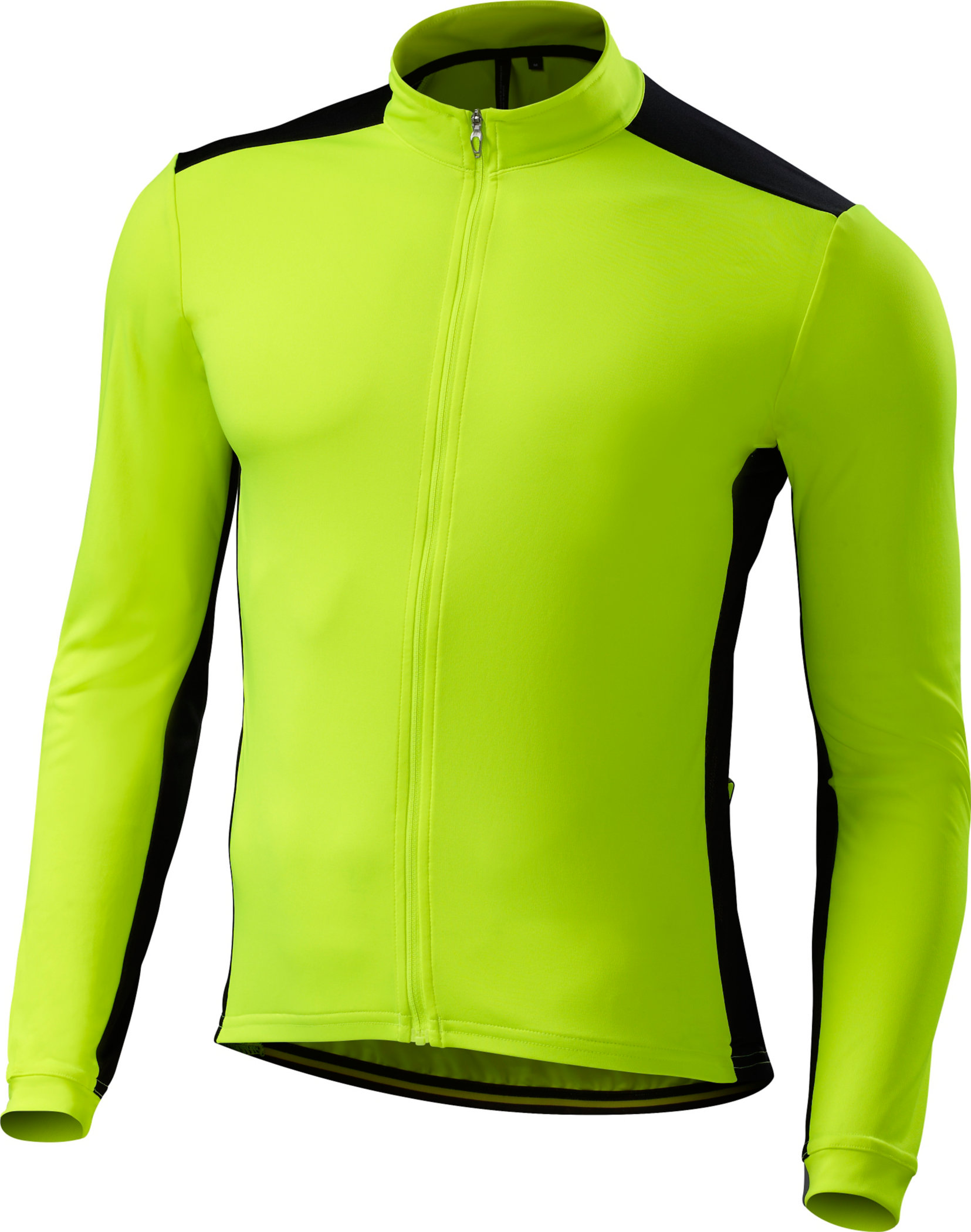 Specialized RBX Sport Long Sleeve Jersey Neon Yellow/Black Large - Alpha Bikes