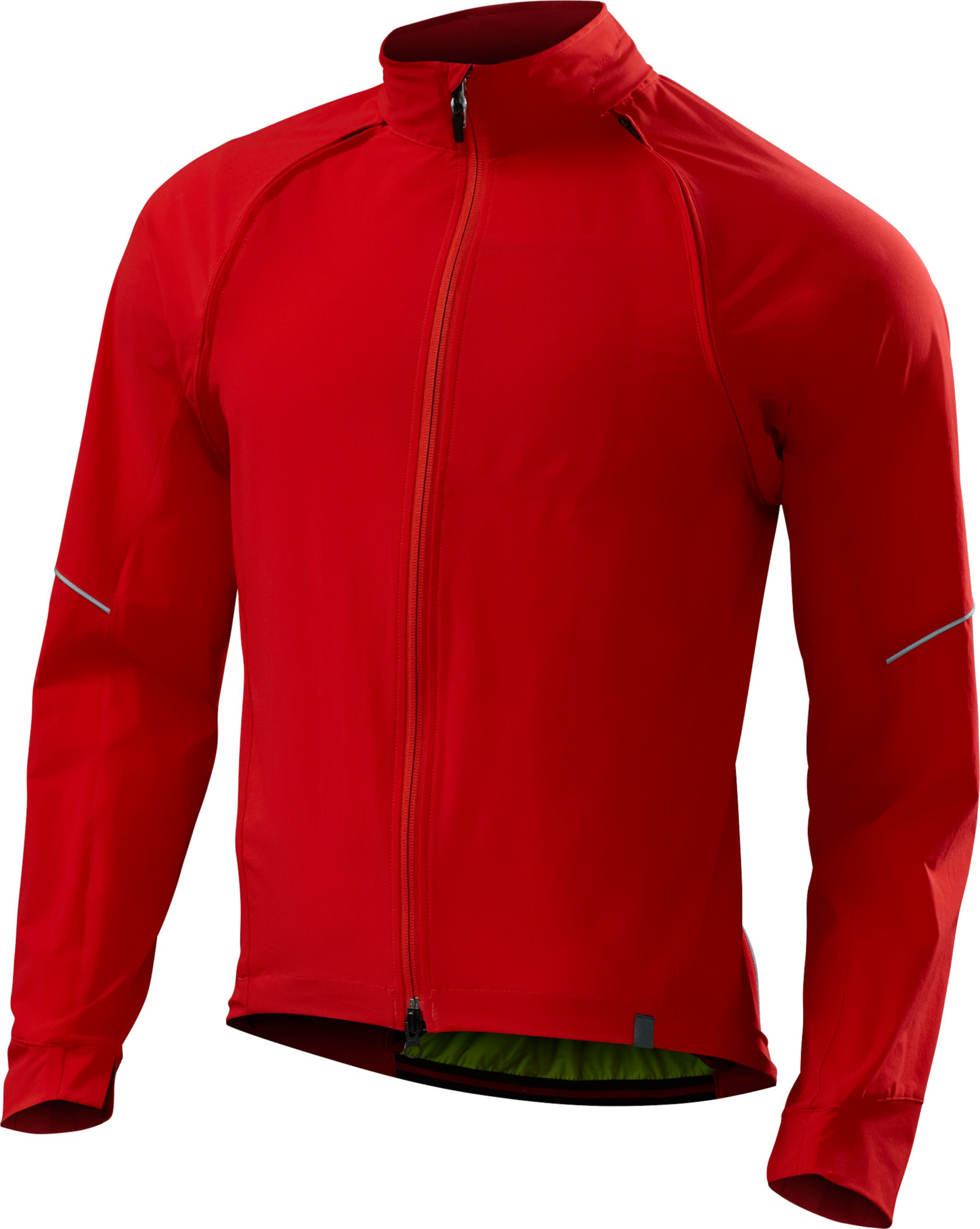 SPECIALIZED DEFLECT HYBRID JACKET RED M - Alpha Bikes