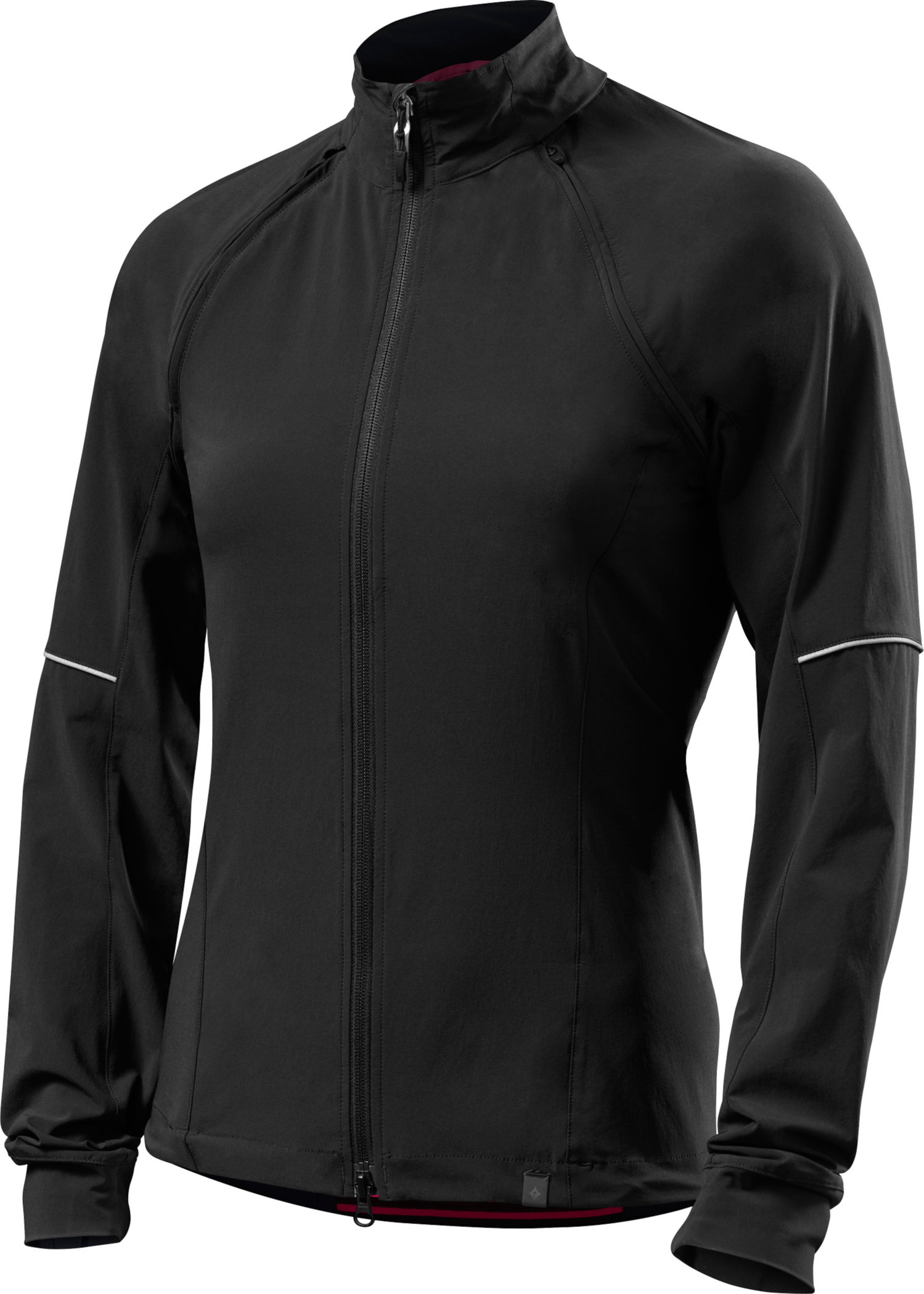 SPECIALIZED DEFLECT HYBRID JACKET WMN BLK M - Alpha Bikes