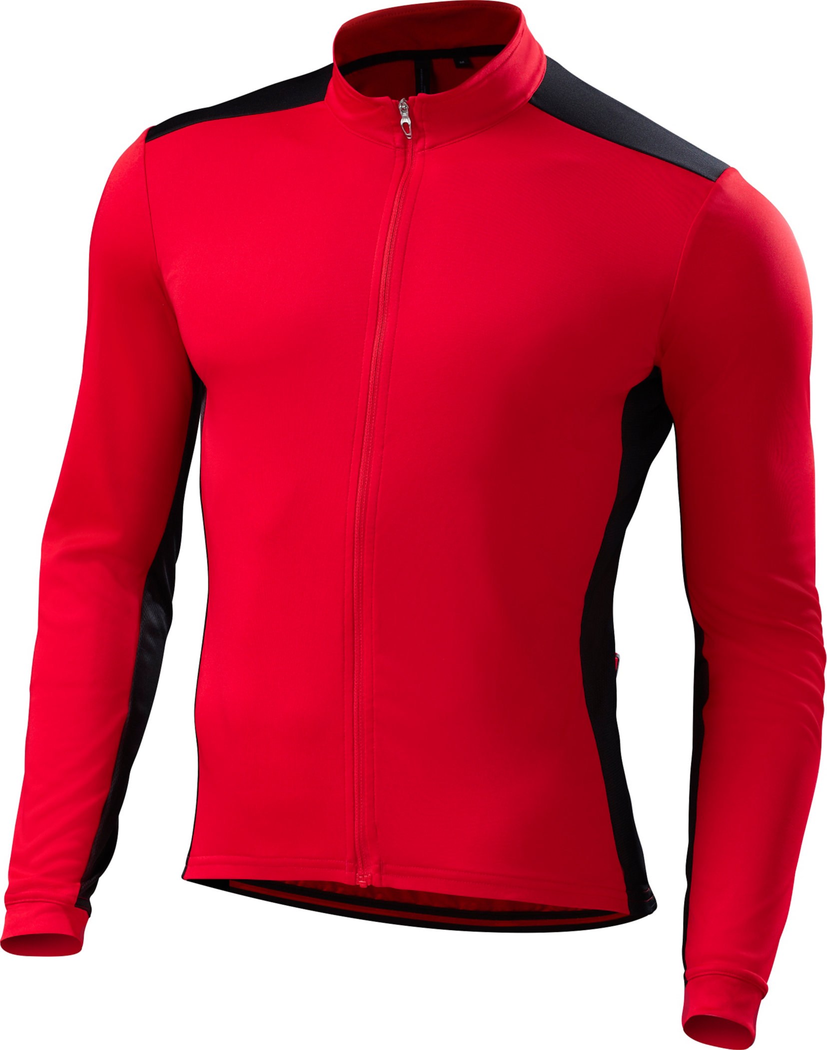 Specialized RBX Sport Long Sleeve Jersey Red/Black Medium - Alpha Bikes