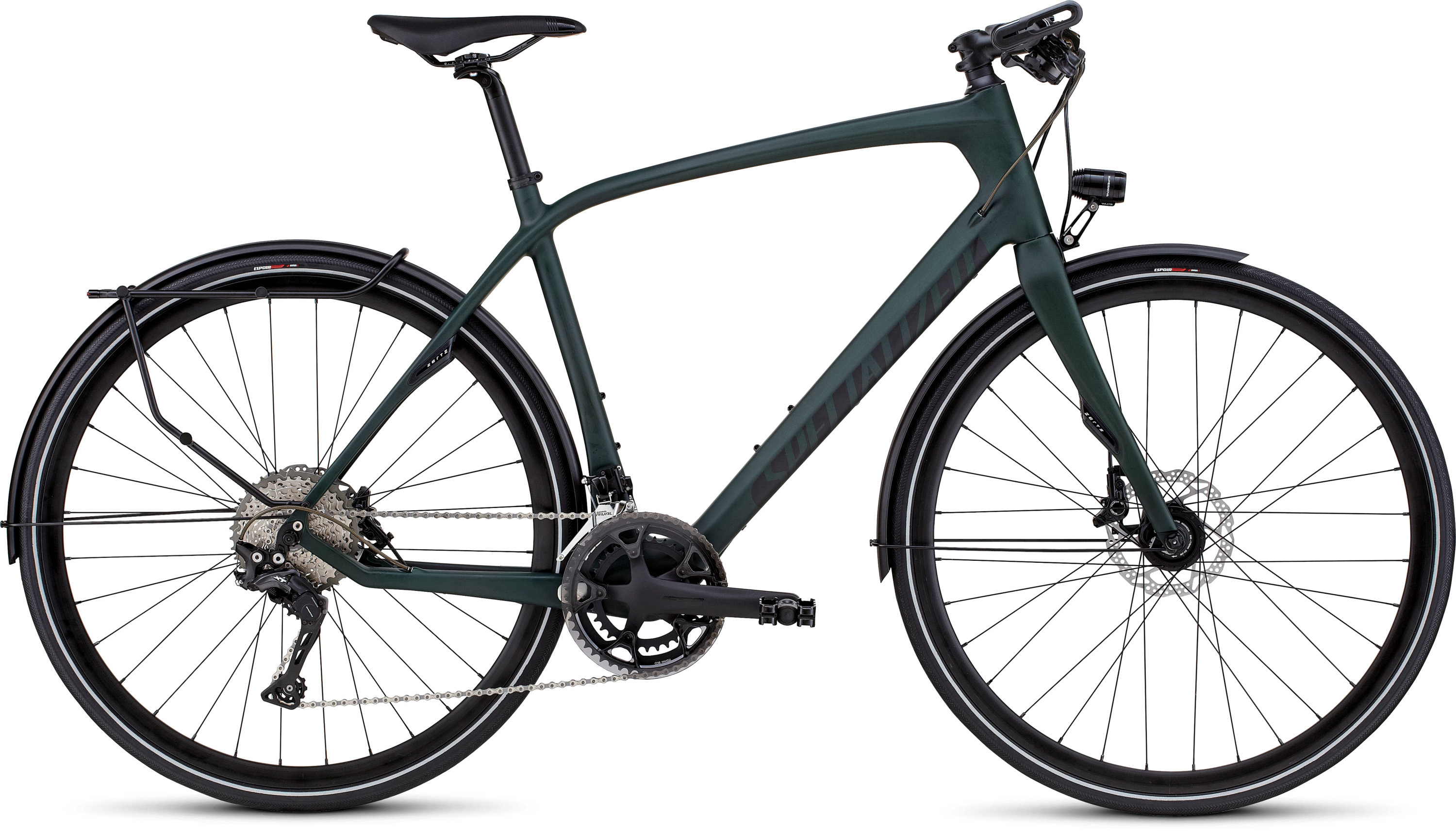 SPECIALIZED SOURCE EXPERT CARBON DISC GRNCARBTNT/CHAR/BLK L - Alpha Bikes