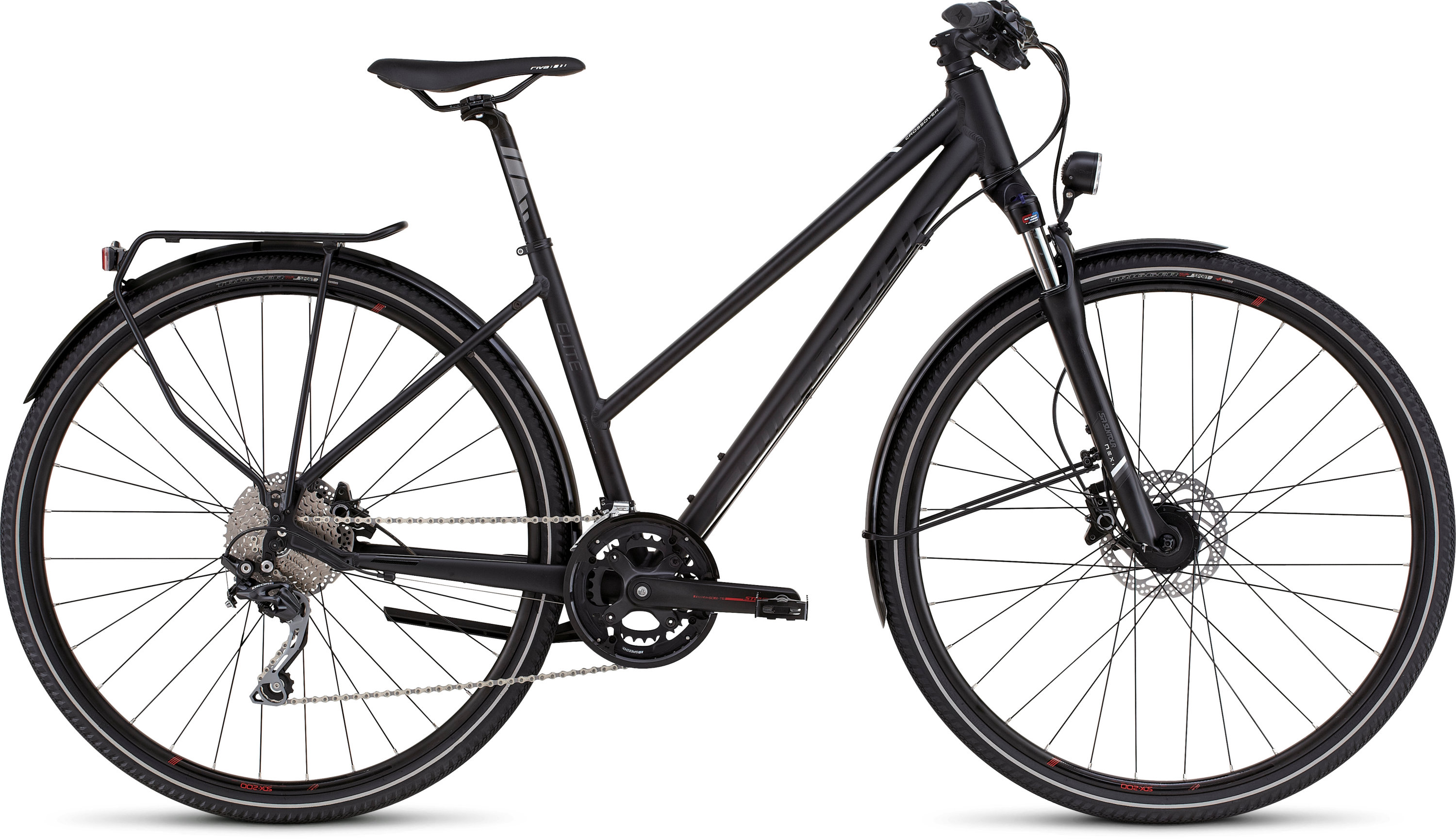 SPECIALIZED CO ELITE DISC ST BLK/BLK/WHT L - Bike Zone
