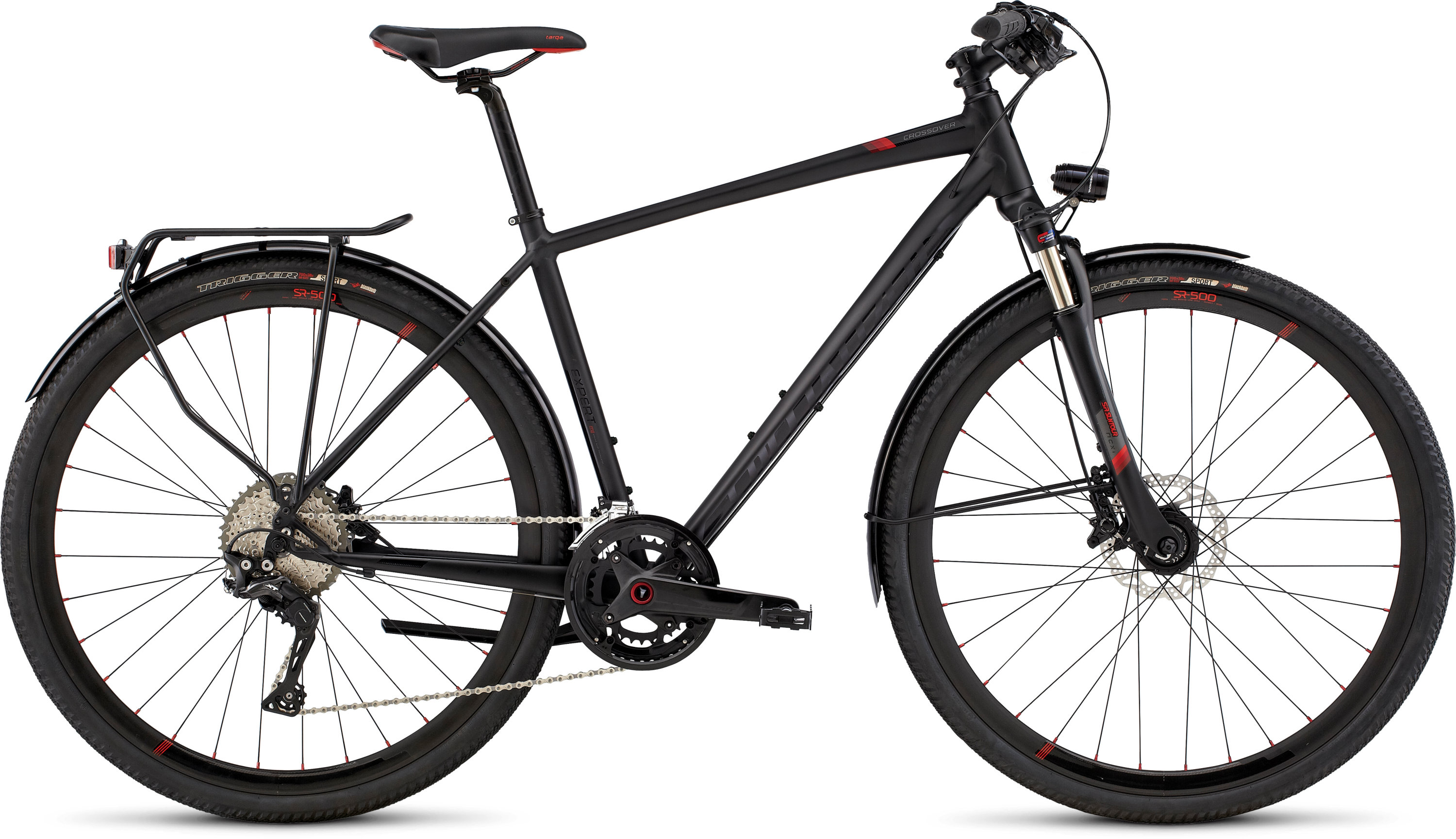 SPECIALIZED CO EXPERT DISC BLK/RED L - Bike Zone