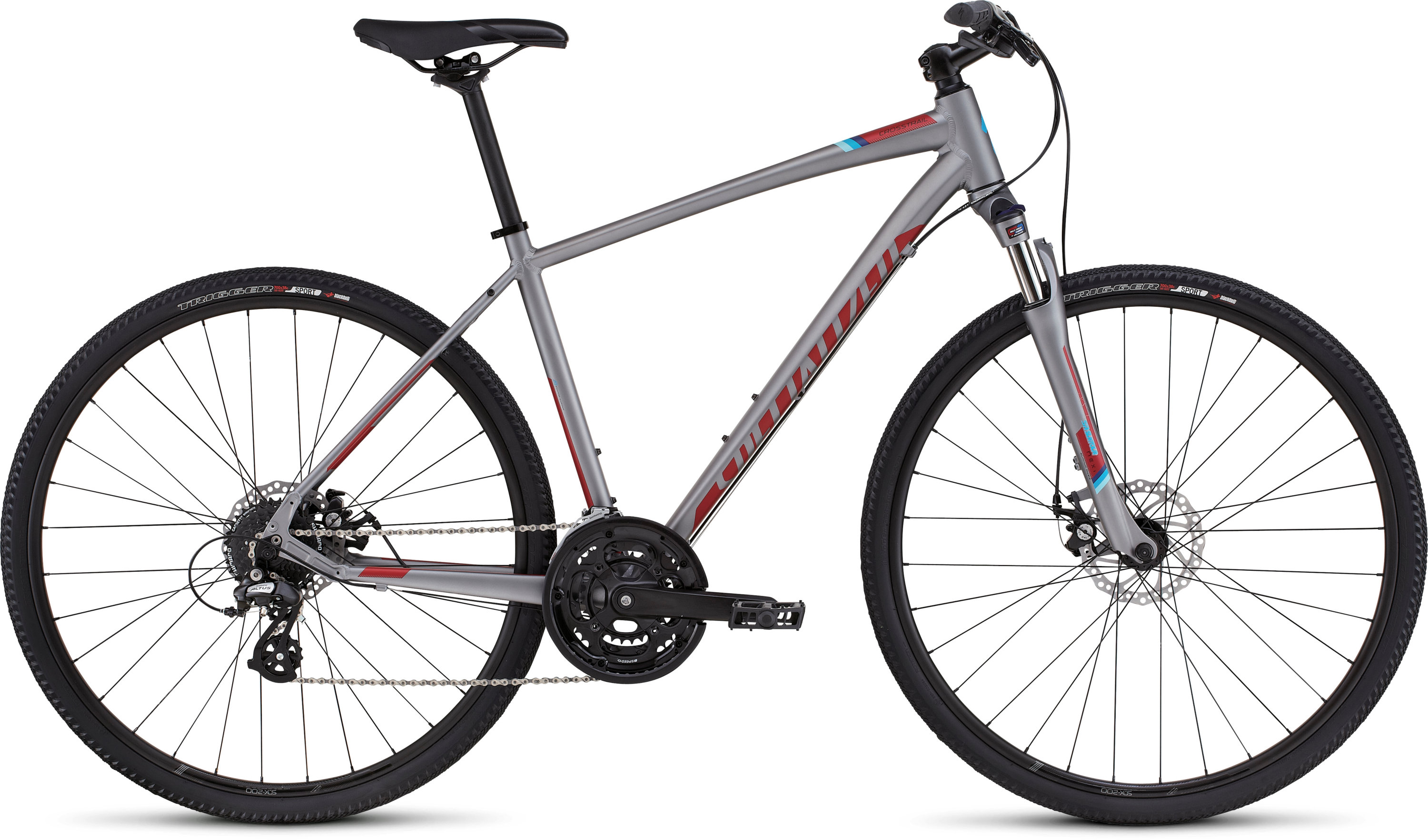 SPECIALIZED CT DISC STRL/CNDYRED/CYAN S - Bikedreams & Dustbikes
