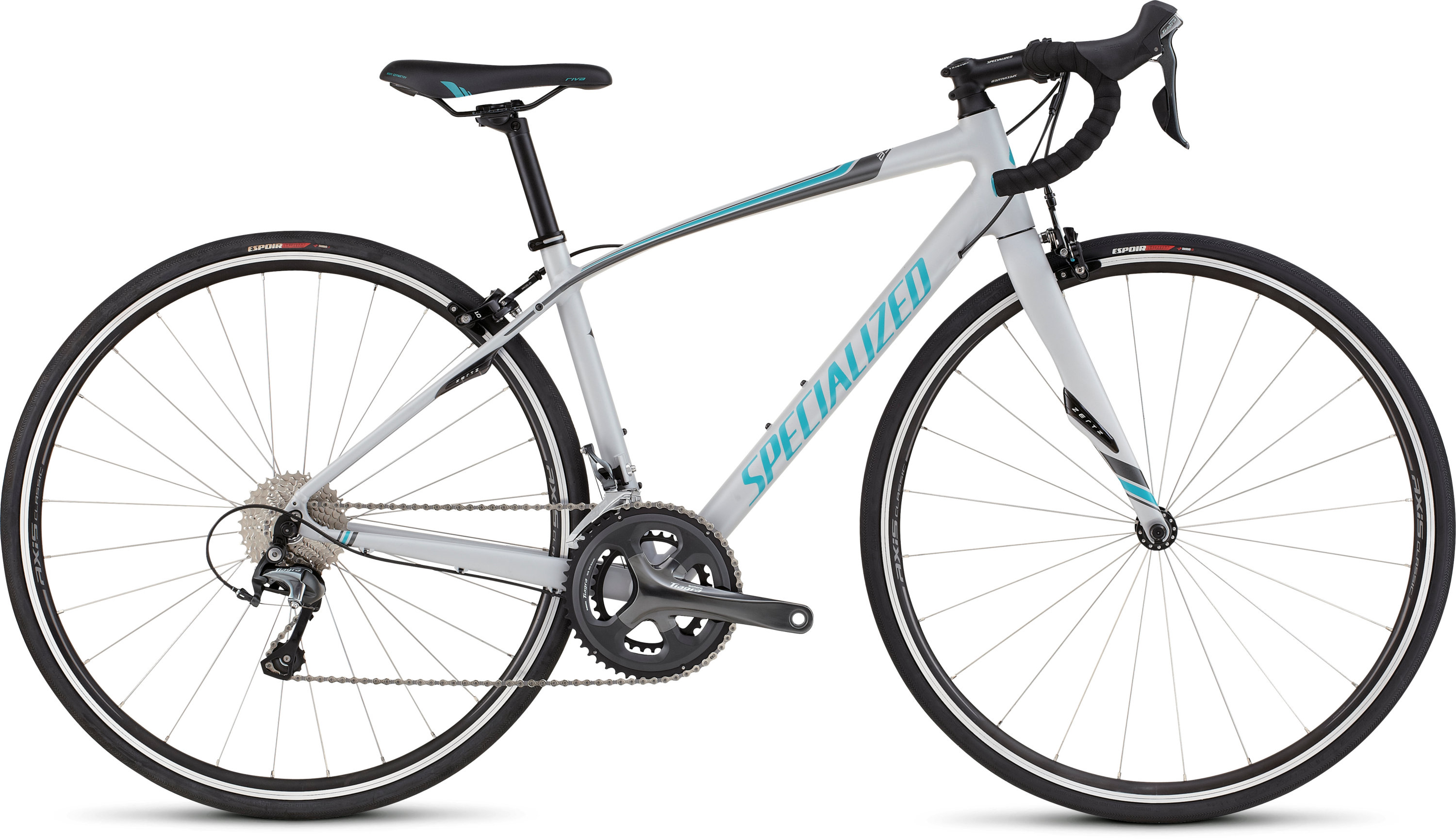 SPECIALIZED DOLCE ELITE FTHYWHT/SIL/PRLTUR 44 - schneider-sports