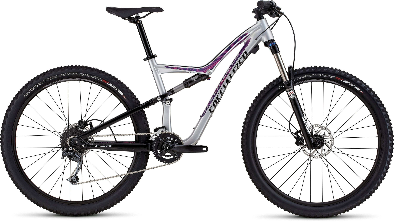 SPECIALIZED RUMOR FSR 650B FLKSIL/BLK/BRTPNK L - Alpha Bikes