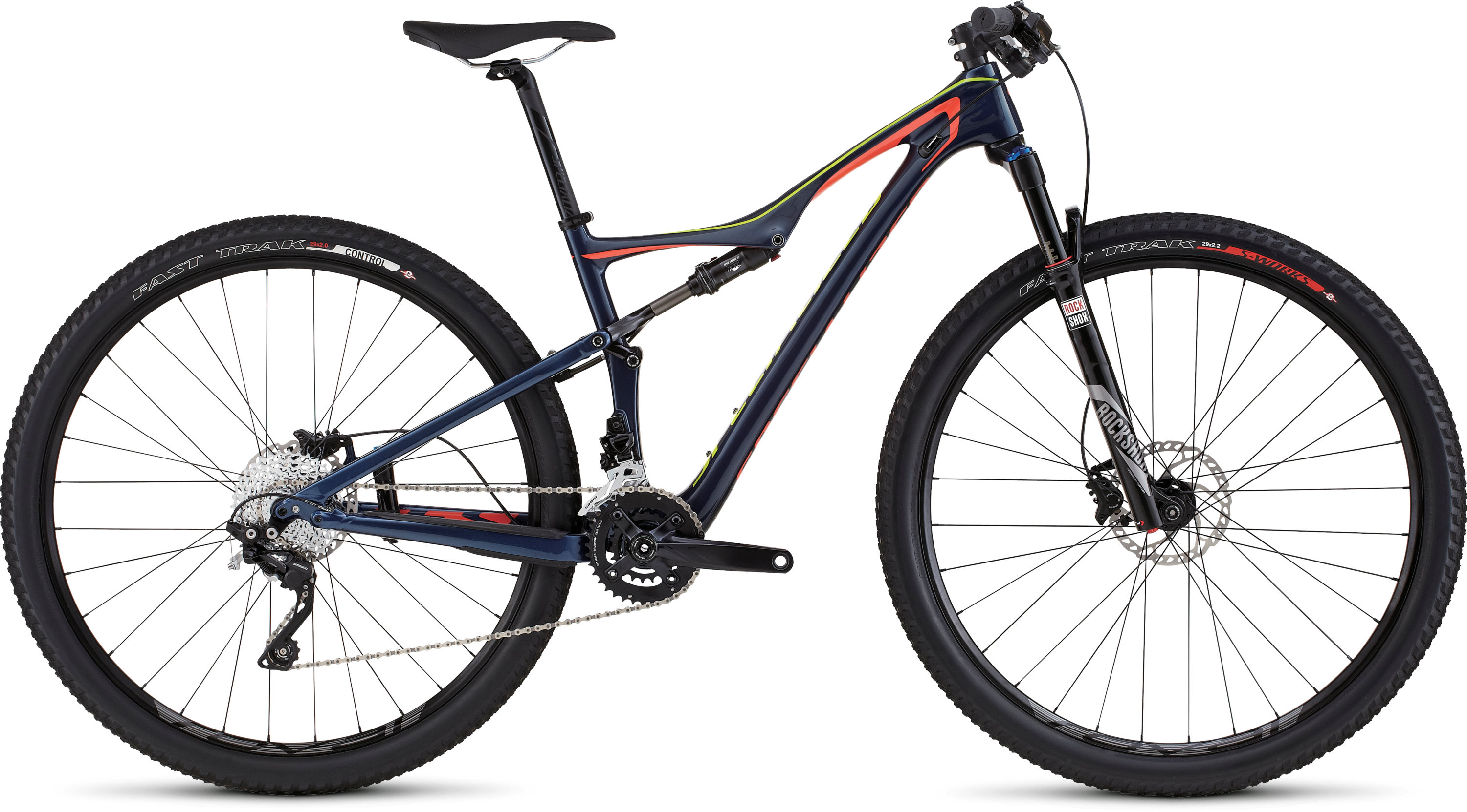 SPECIALIZED ERA FSR COMP CARBON 29 NVY/CRL/HYP S - Bikedreams & Dustbikes