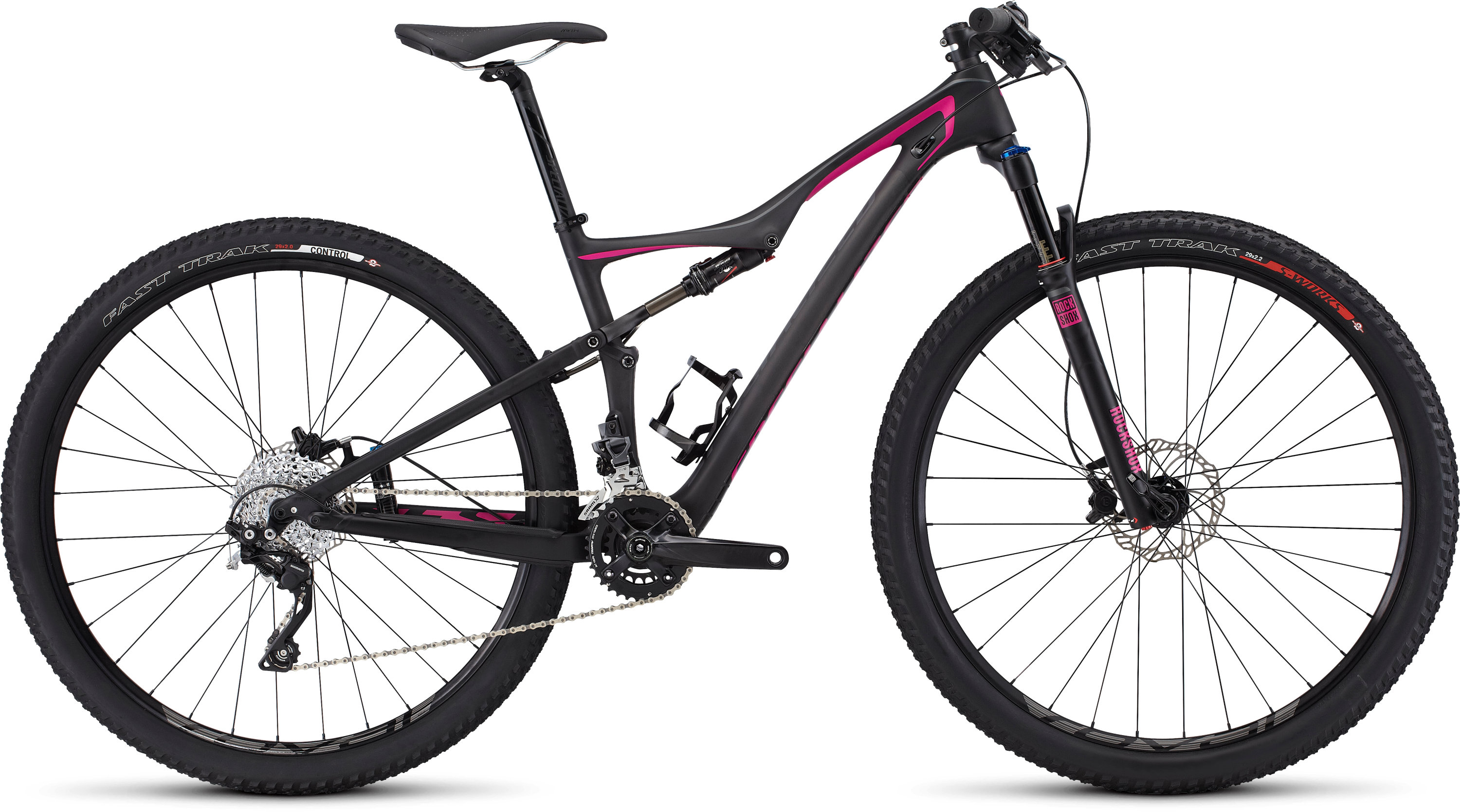 SPECIALIZED ERA FSR COMP CARBON 29 CARB/CHAR/BRTPNK M - Alpha Bikes