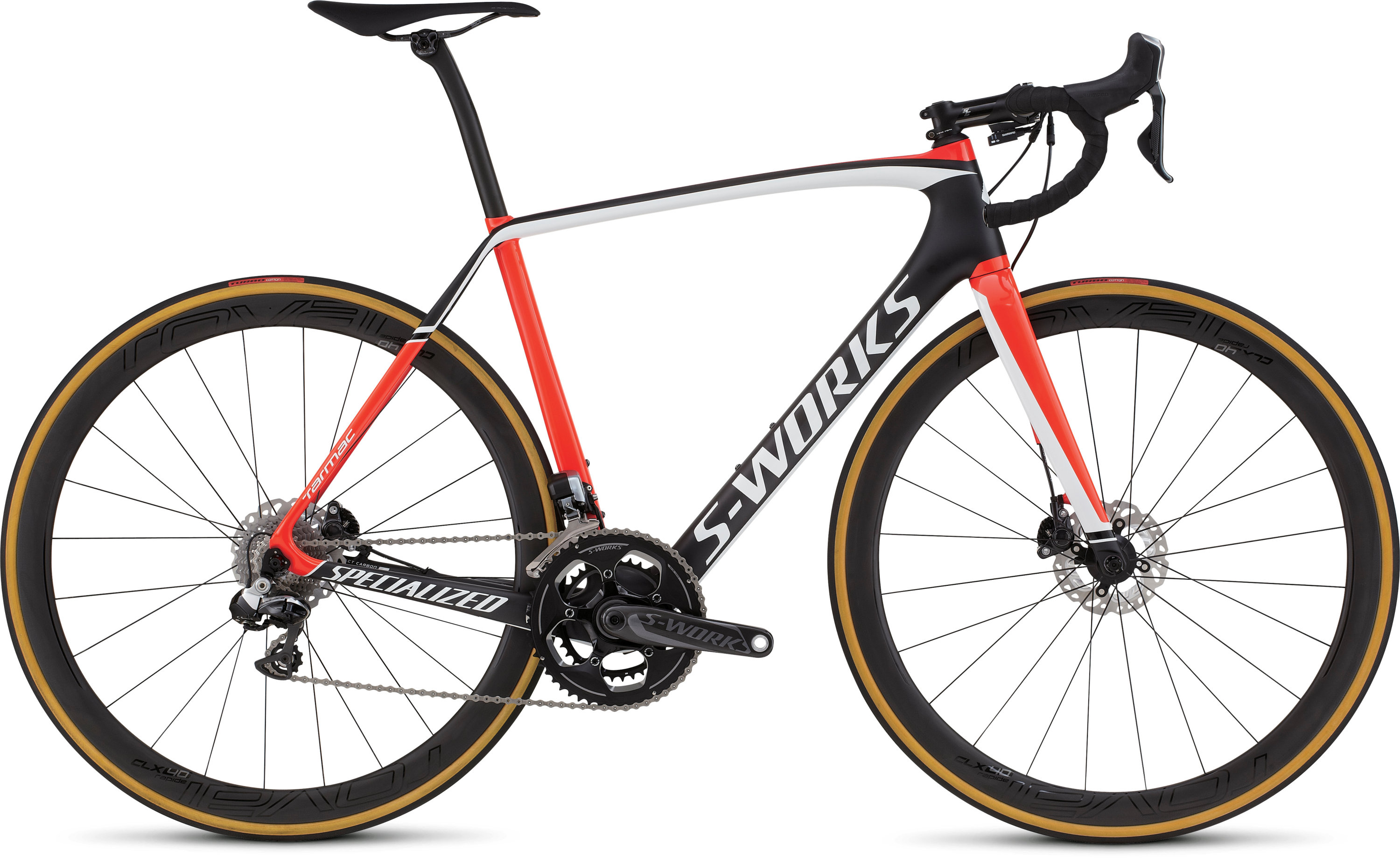SPECIALIZED SW TARMAC DISC DI2 CARB/RKTRED/WHT 49 - Bikedreams & Dustbikes