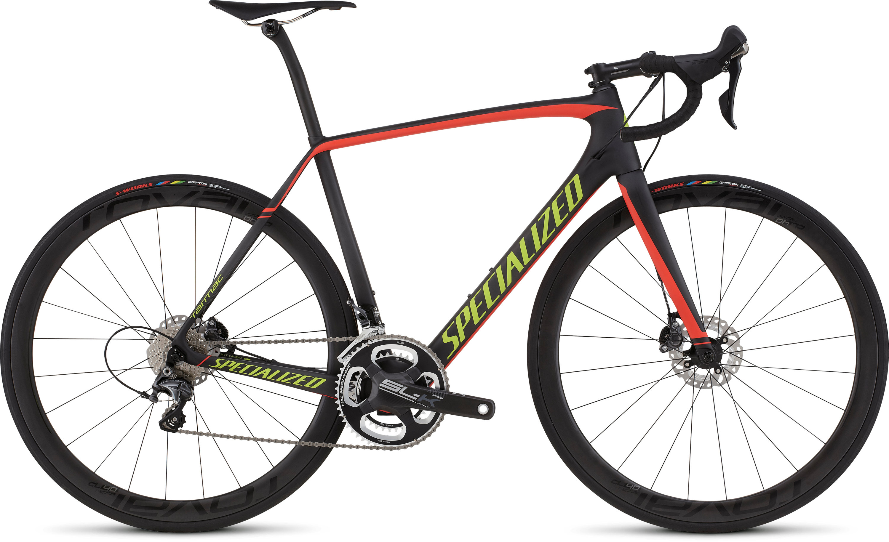 SPECIALIZED TARMAC EXPERT DISC RACE CARB/RED/HYP 49 - schneider-sports