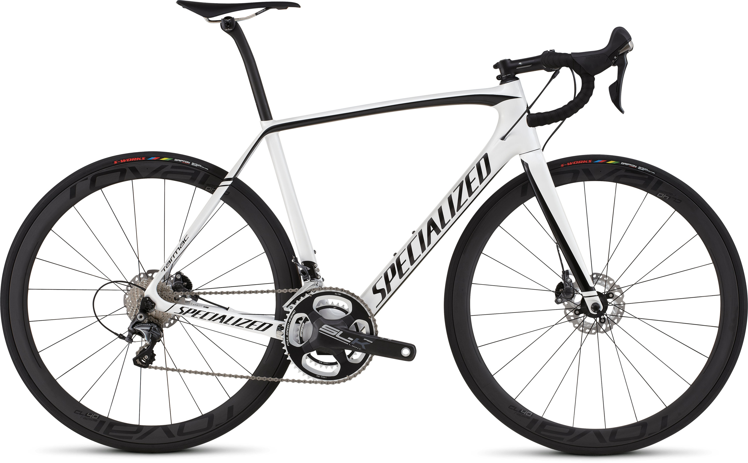 SPECIALIZED TARMAC EXPERT DISC RACE METWHT/TARBLK 49 - schneider-sports