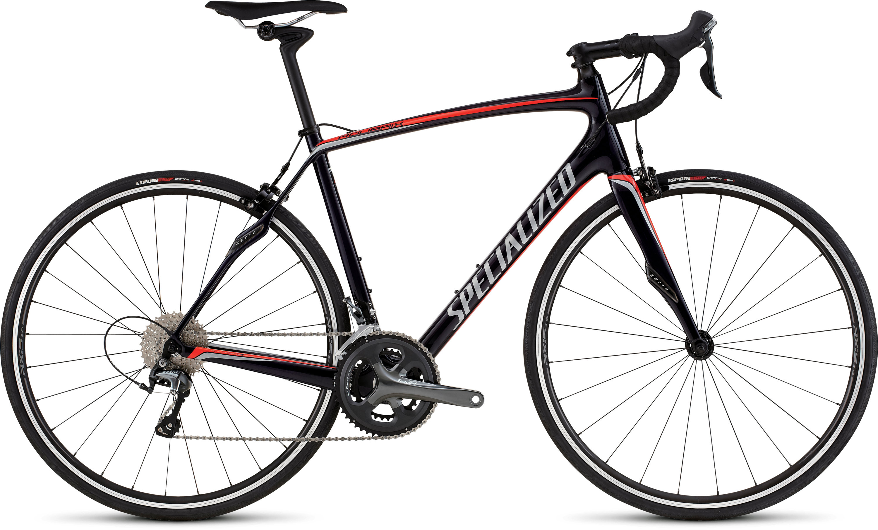 SPECIALIZED ROUBAIX SL4 BLUTNT/RED/SIL 49 - schneider-sports