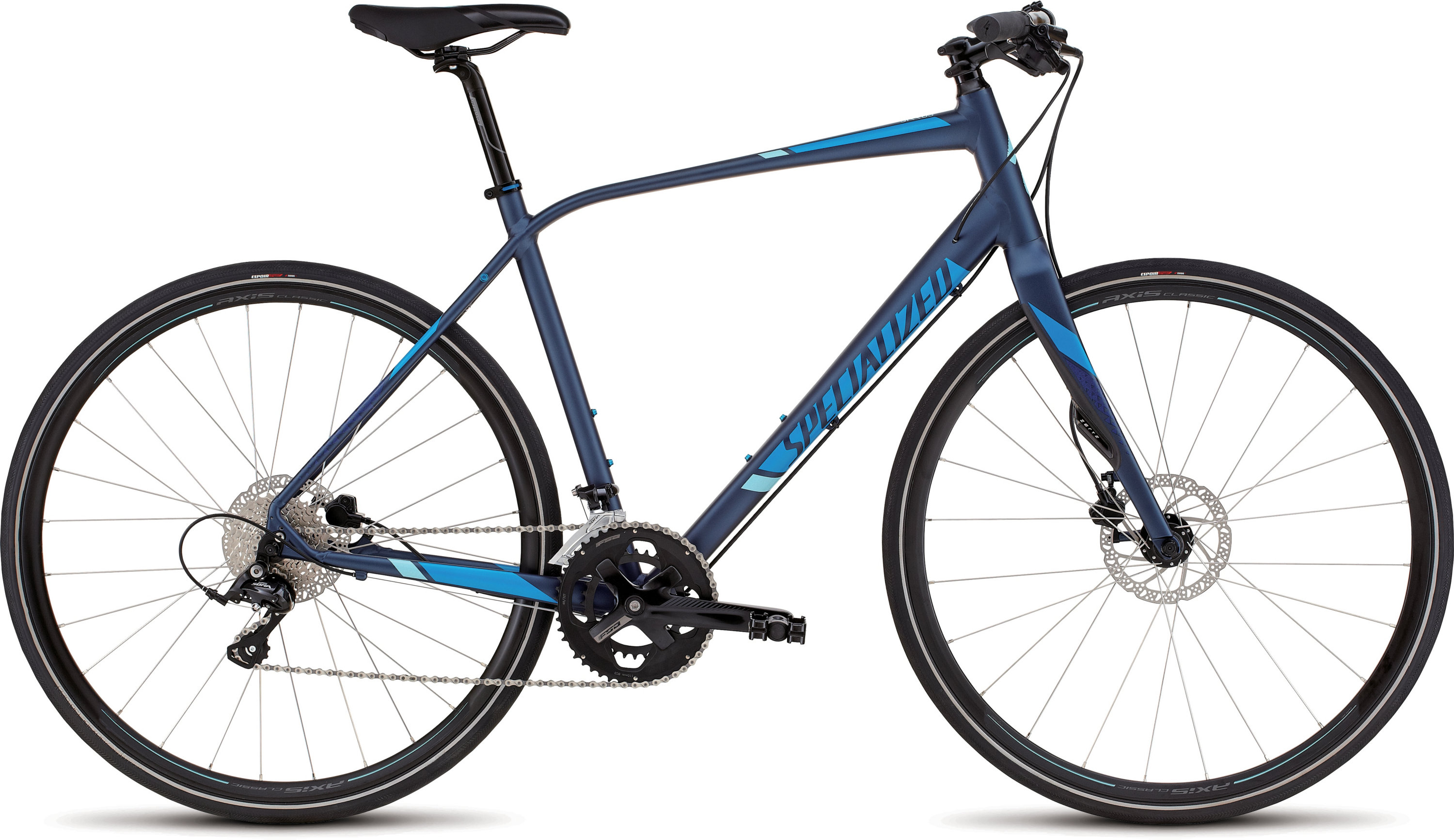SPECIALIZED SIRRUS ELITE DISC NVY/BLU/LTBLU S - Bikedreams & Dustbikes