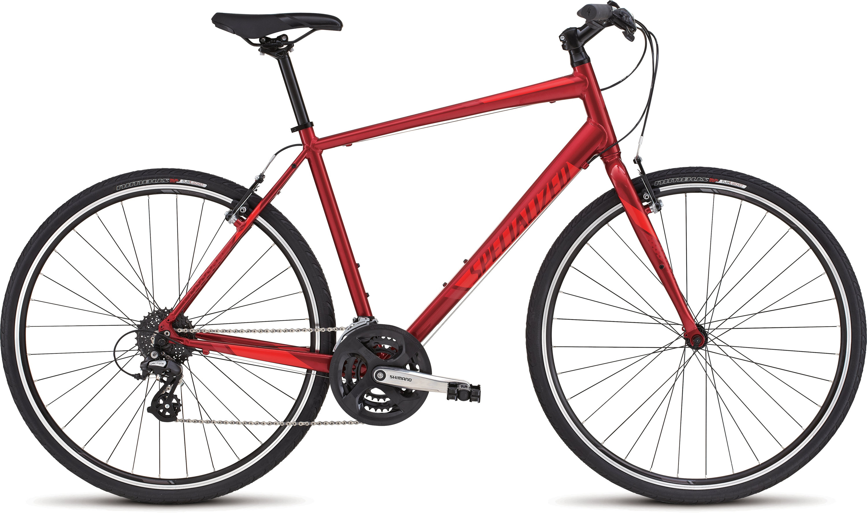 SPECIALIZED SIRRUS CNDYRED/RKTRED/RED XS - Bikedreams & Dustbikes