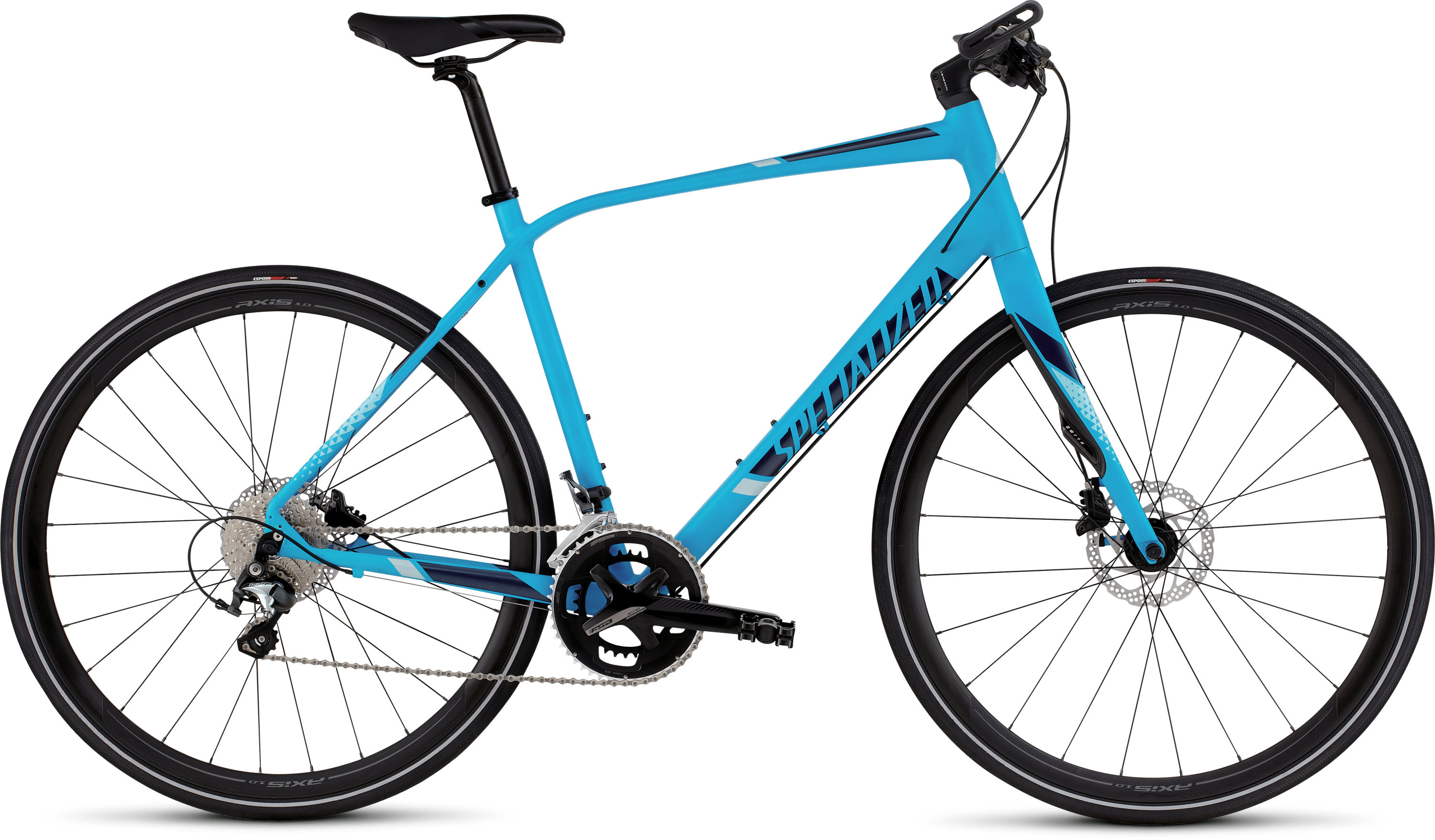 SPECIALIZED SIRRUS COMP DISC CYAN/NVY/BBYBLU S - Bikedreams & Dustbikes