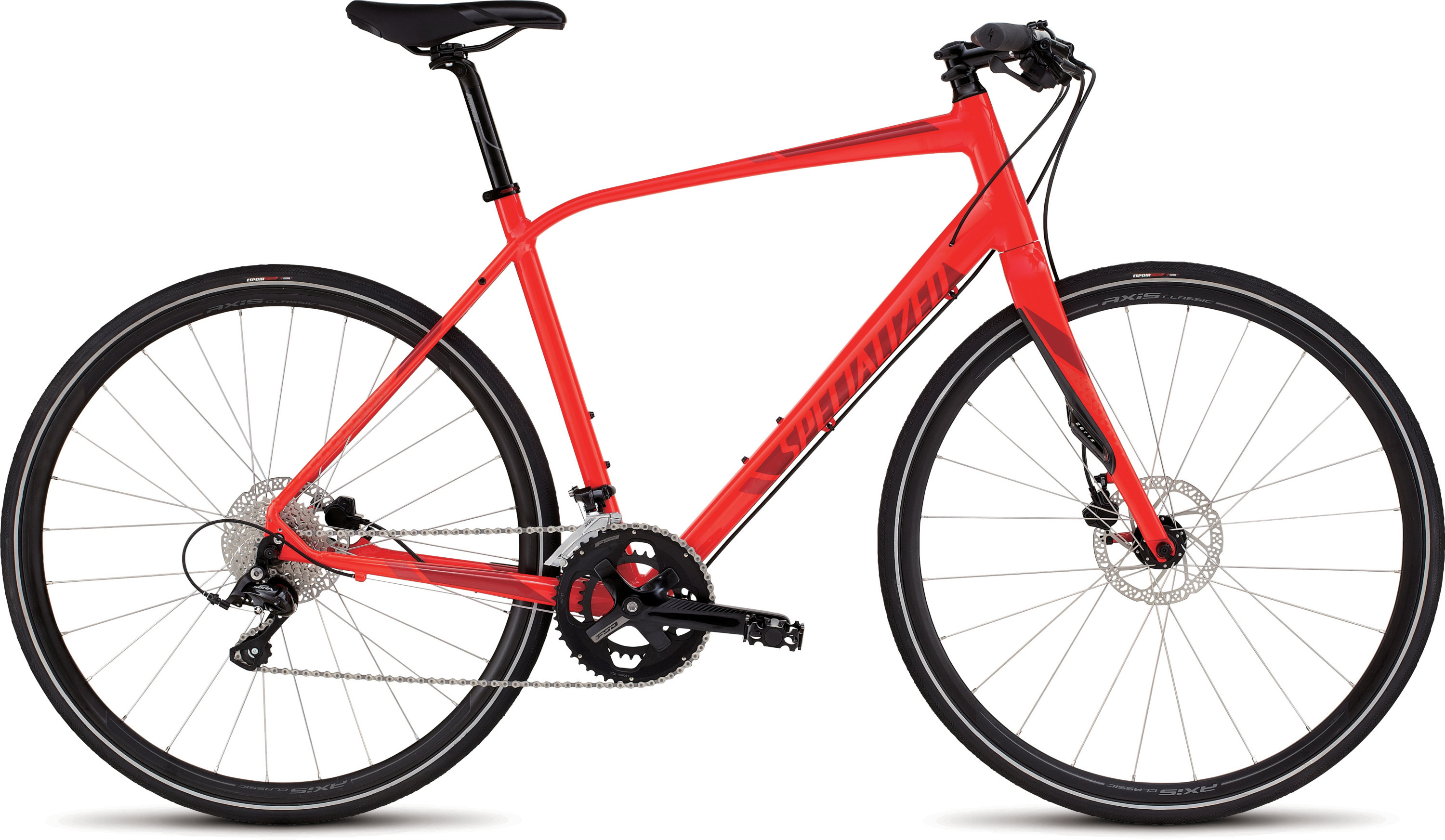 SPECIALIZED SIRRUS ELITE DISC RKTRED/CNDYRED/RED S - Bikedreams & Dustbikes