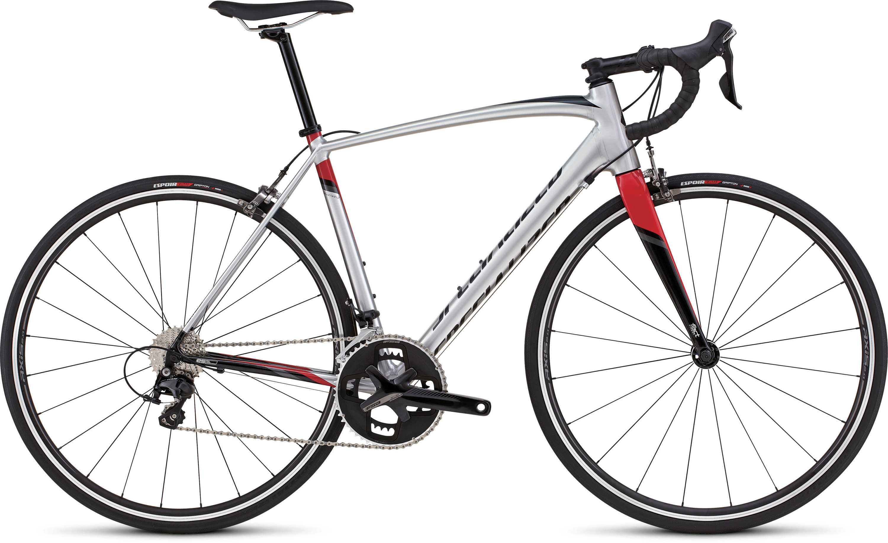 SPECIALIZED ALLEZ COMP DSW SL BRSH/TARBLK/RED/CHAR 49 - schneider-sports