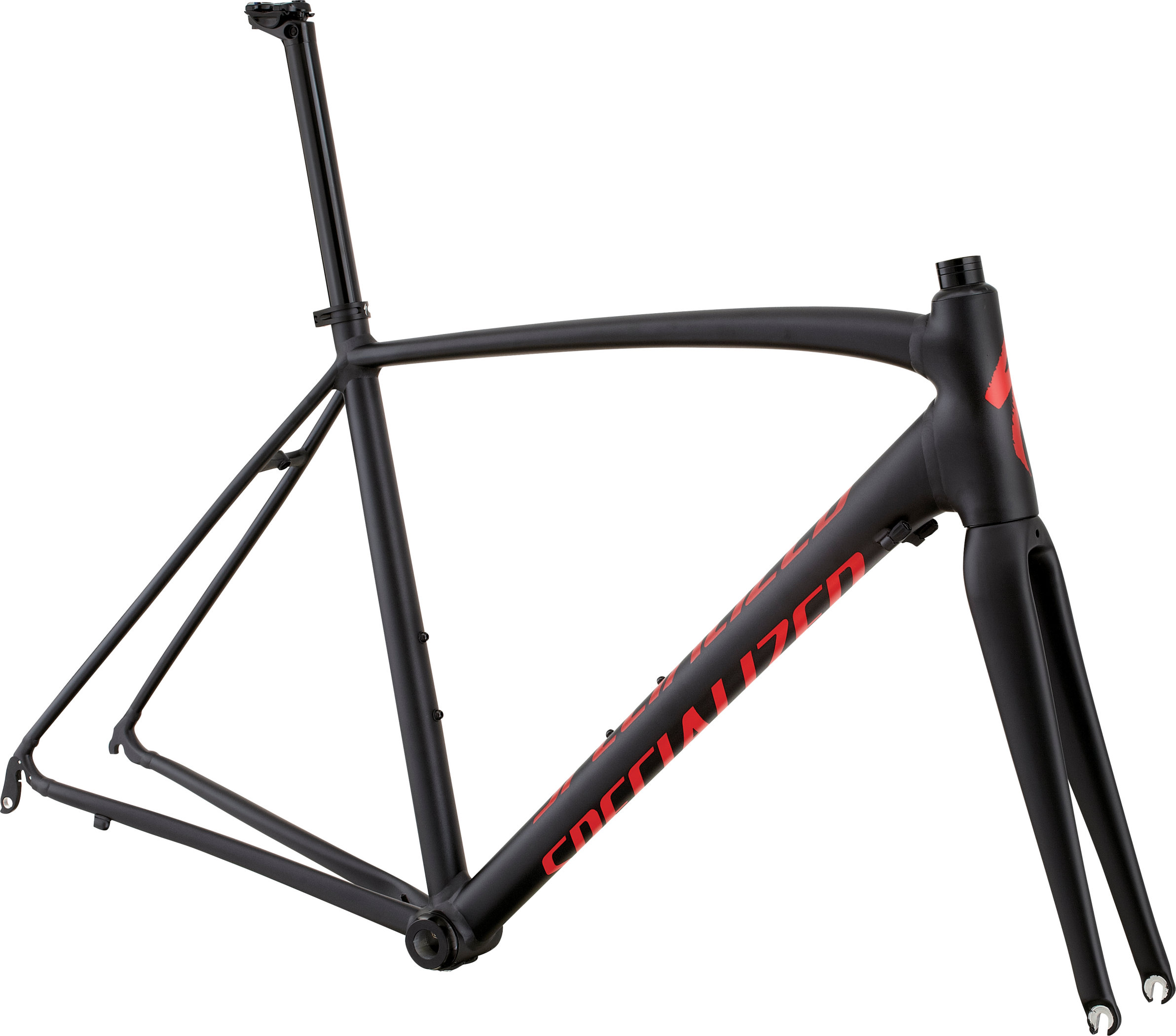 SPECIALIZED ALLEZ DSW SL FRMSET BLK ANO/RED 49 - schneider-sports