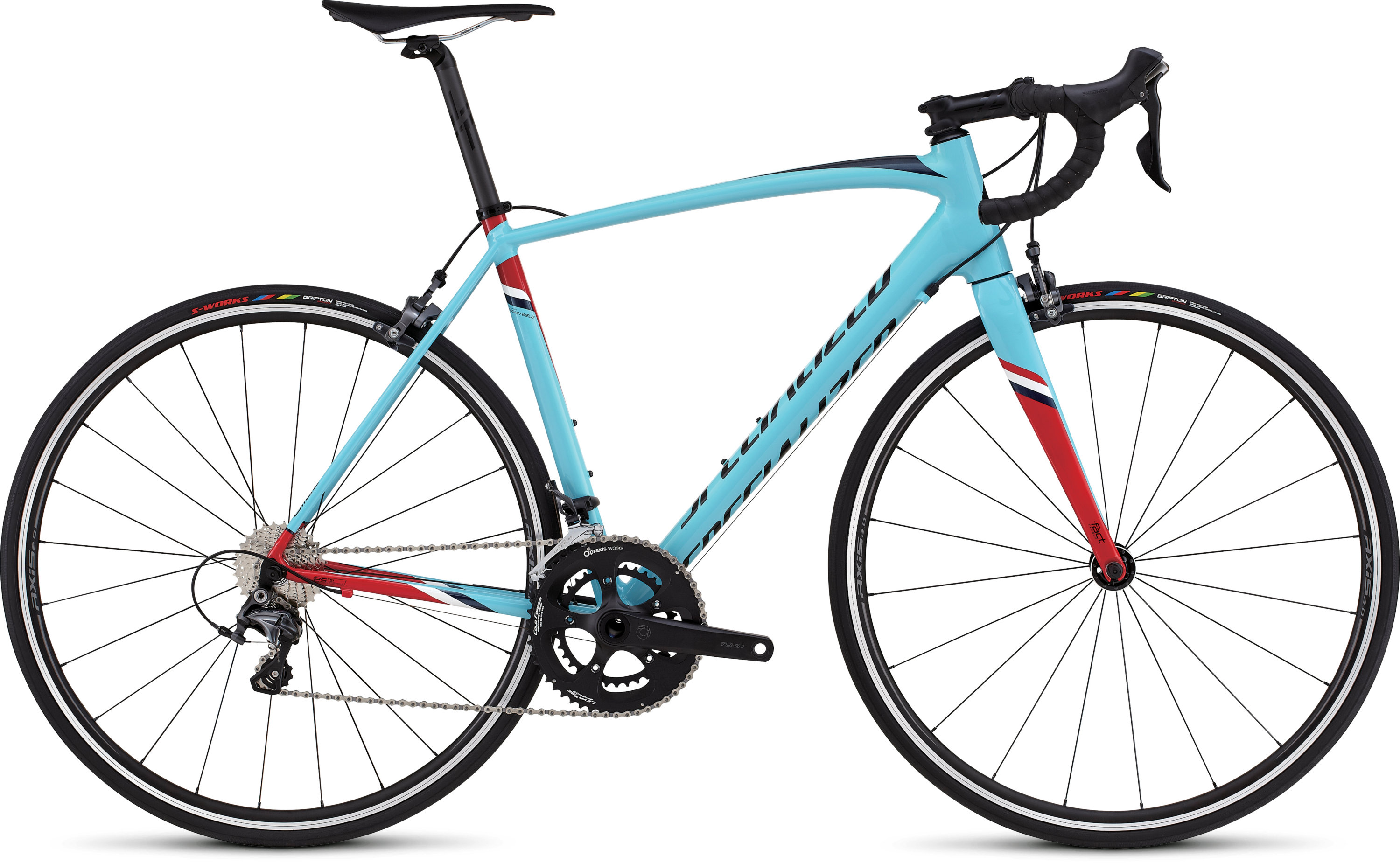 SPECIALIZED ALLEZ EXPERT DSW SL LTBLU/RED/TARBLK/NVY/WHT 49 - Bikedreams & Dustbikes