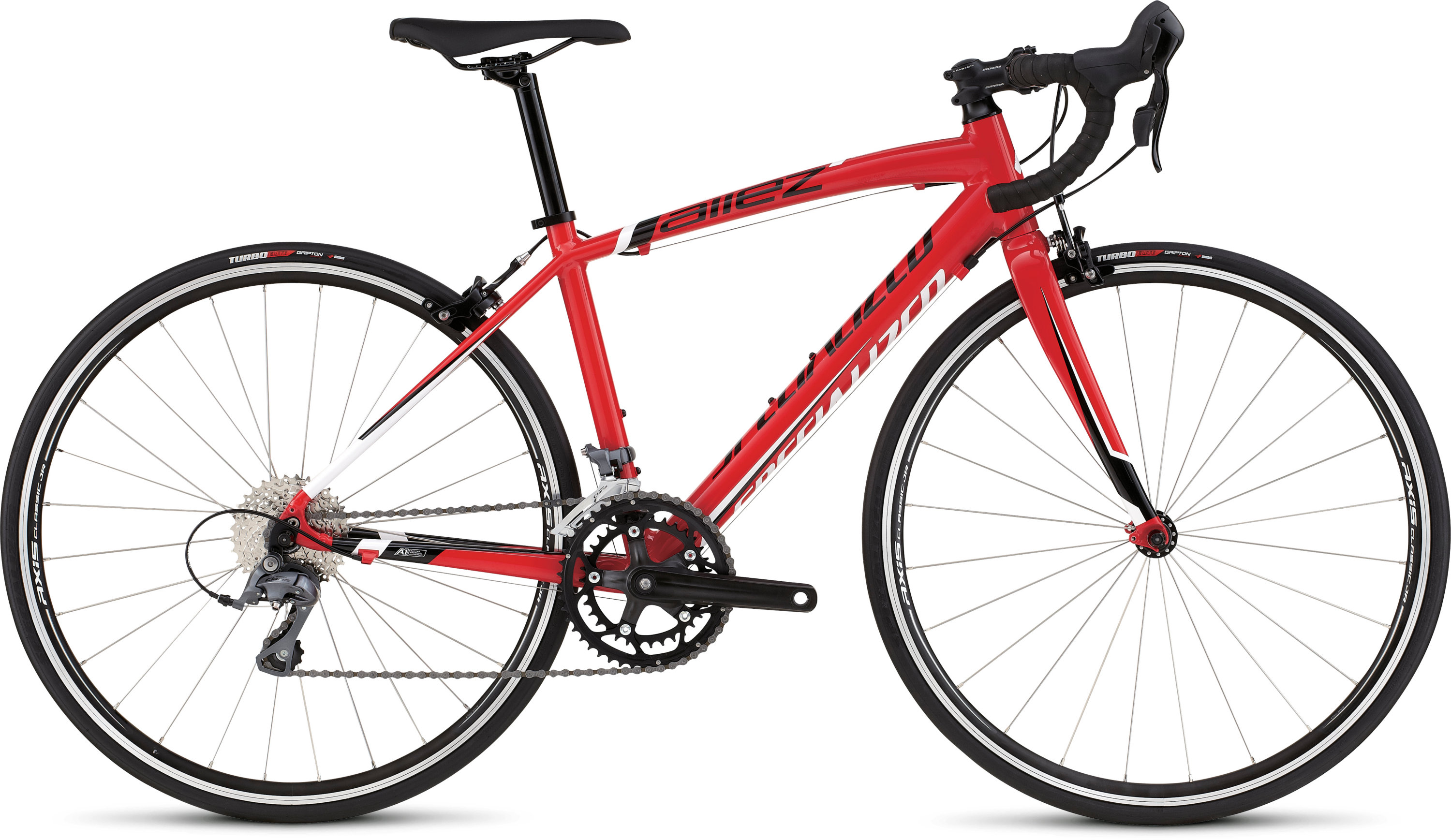 SPECIALIZED ALLEZ JR 650C RED/WHT/BLK 44 - Alpha Bikes