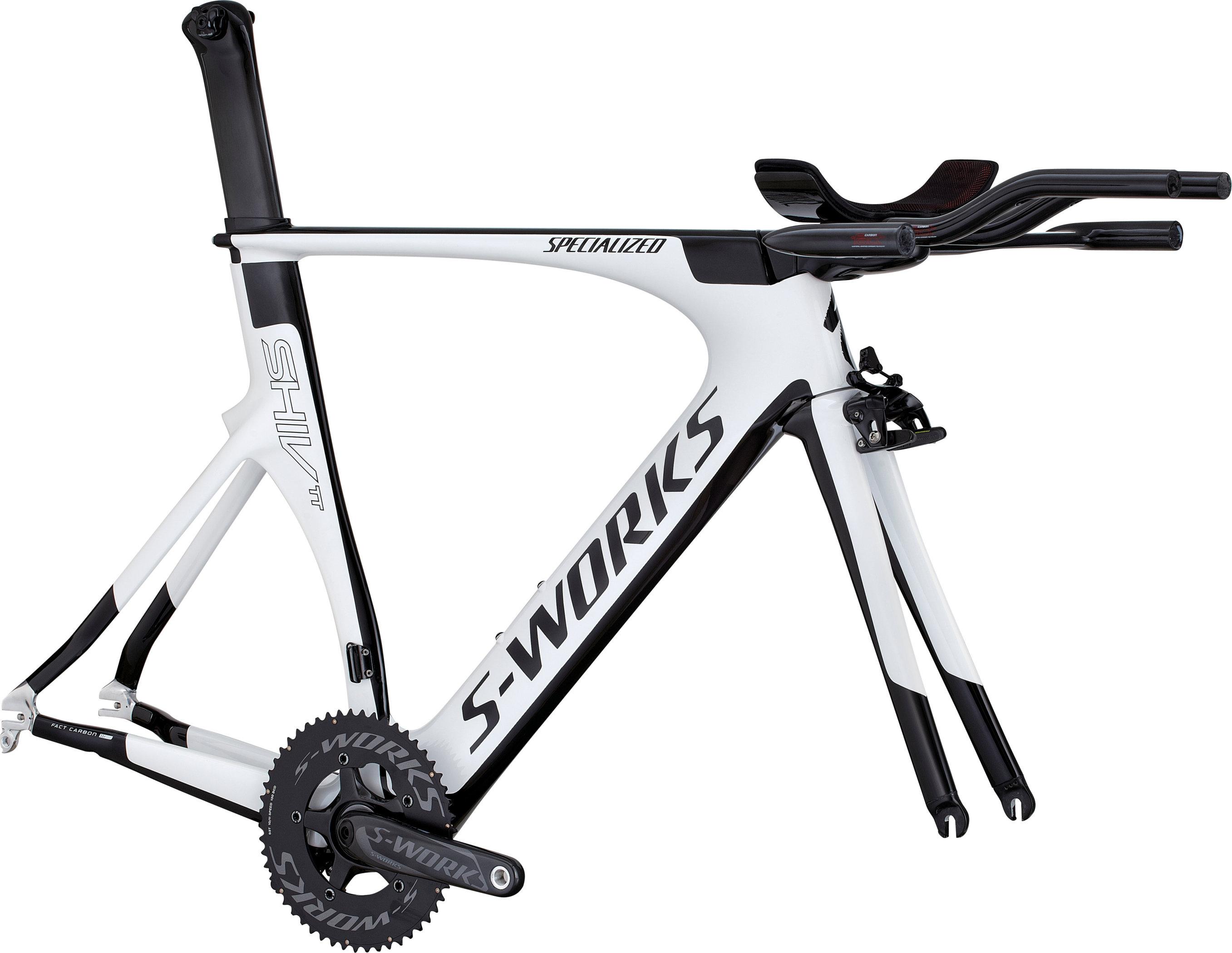 SPECIALIZED SW SHIV TT X2 MODULE METWHT/BLK 450 - Bikedreams & Dustbikes
