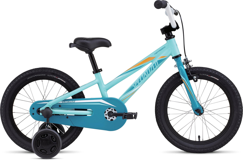 SPECIALIZED HTRK 16 CSTR GIRL INT PRLLTTUR/TUR/GLDORG - Alpha Bikes