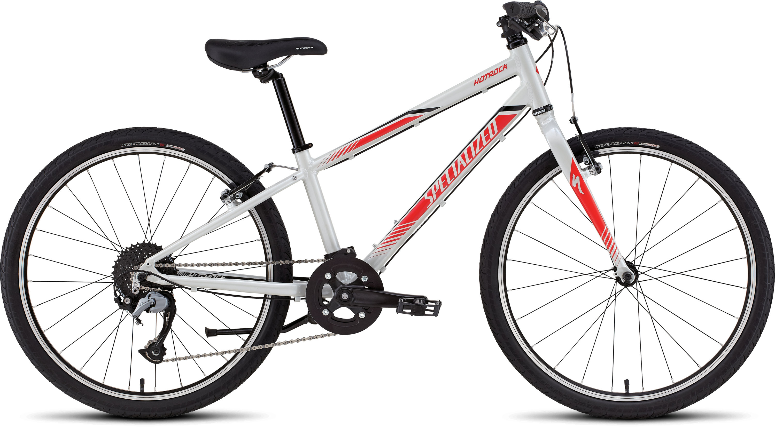 Specialized HOTROCK 24 SL BOYS Gloss Dirty White/Rocket Red/Black 11 - Pulsschlag Bike+Sport