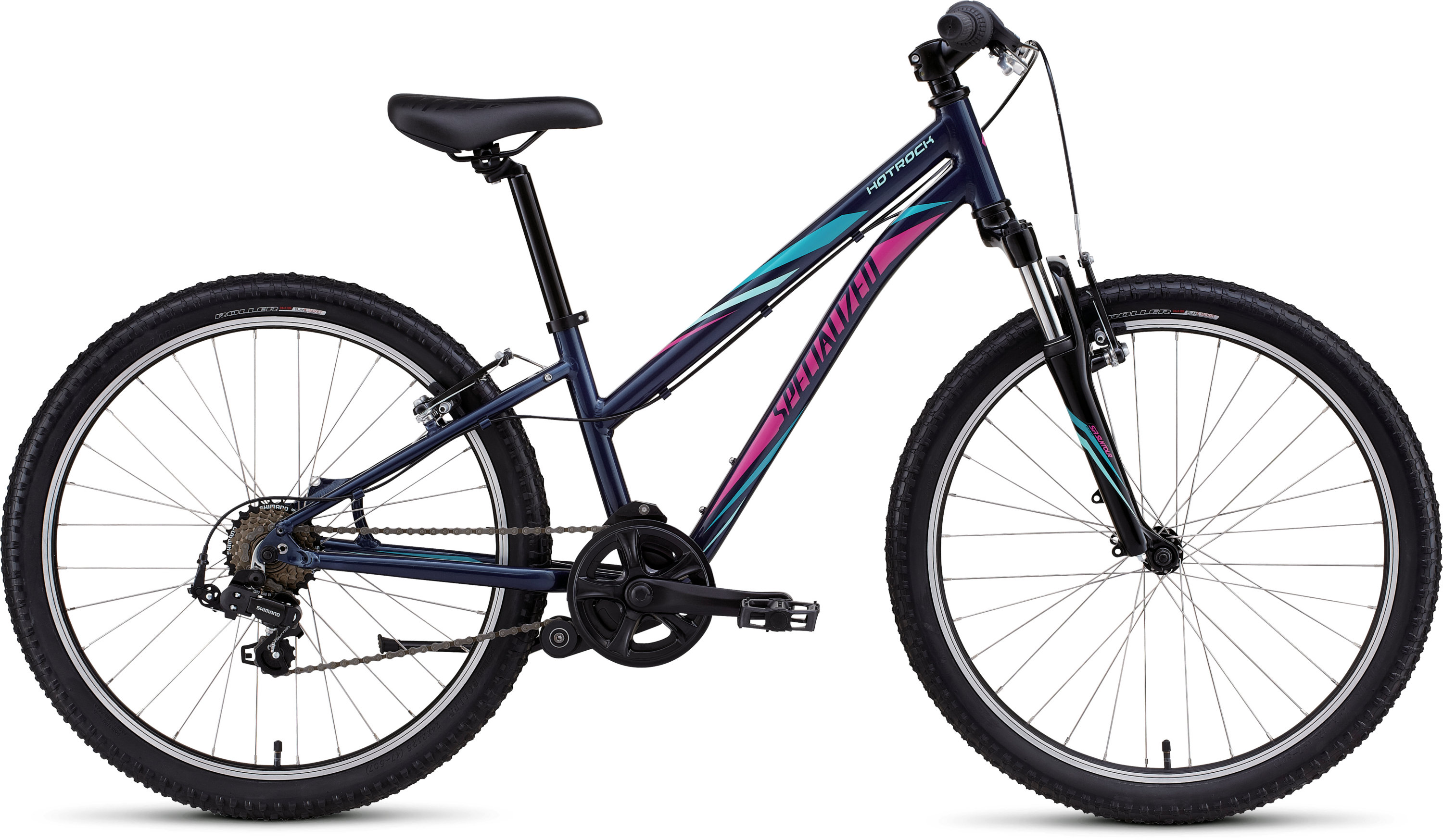 SPECIALIZED HTRK 24 7 SPD GIRL INT NVY/LTTUR/BRTPNK - Pulsschlag Bike+Sport