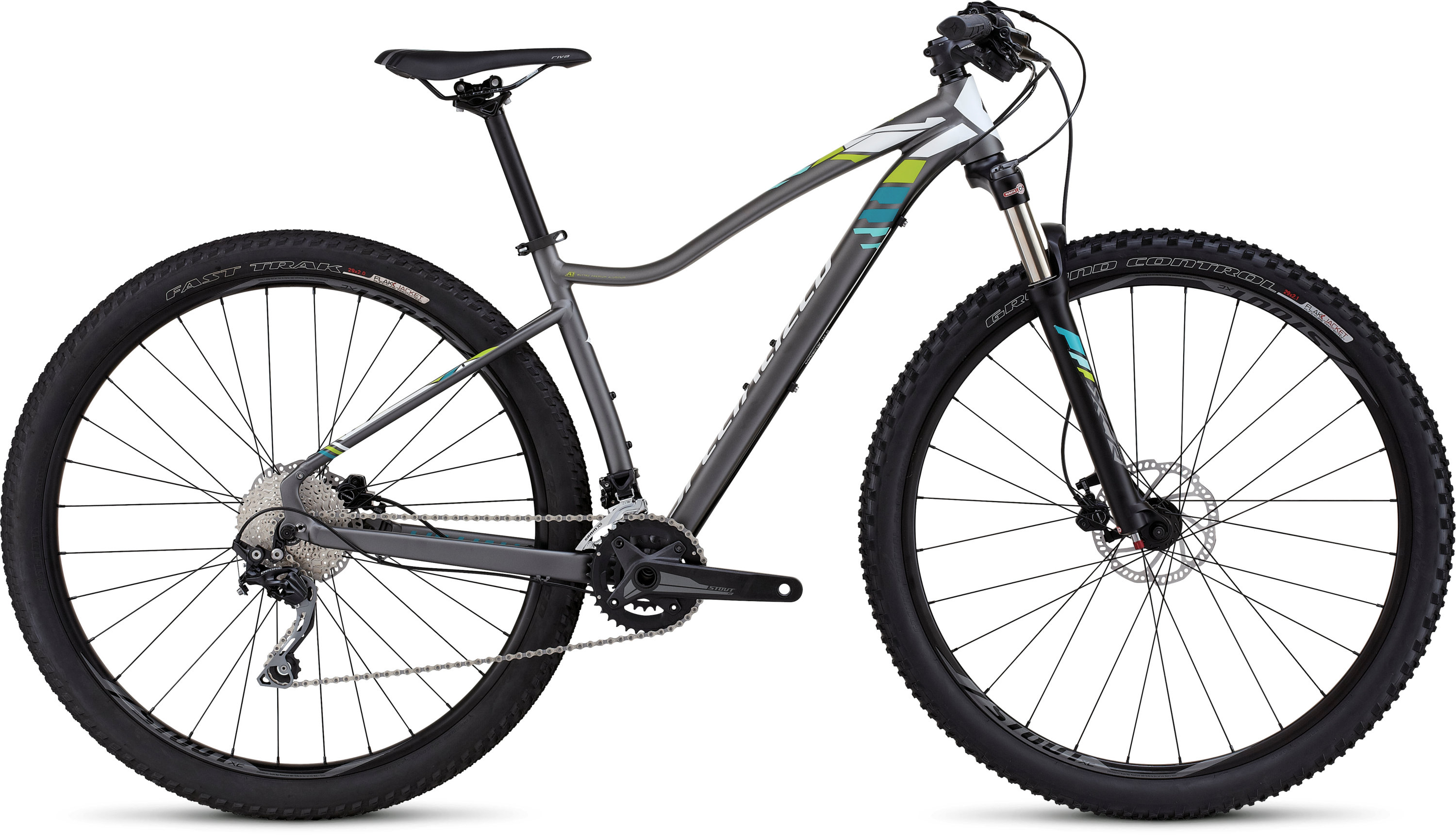 SPECIALIZED JETT EXPERT 29 CHAR/WHT/TUR S - Bikedreams & Dustbikes