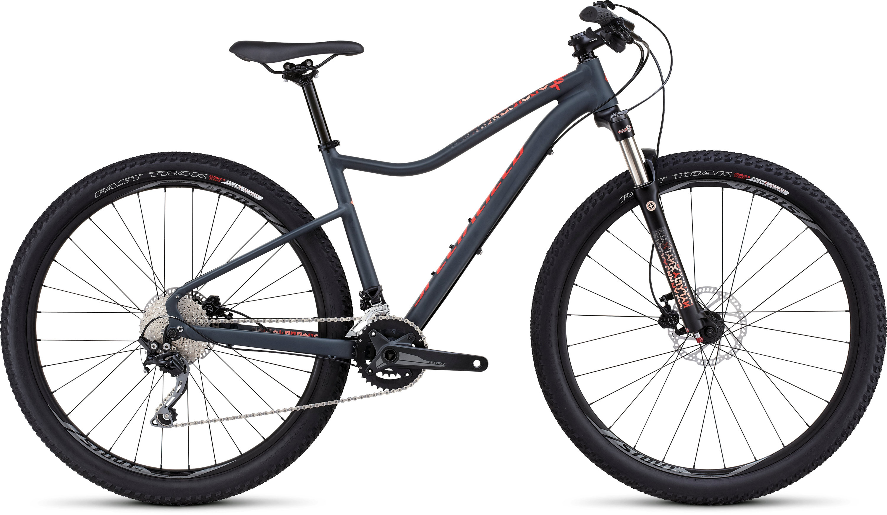 SPECIALIZED JYNX EXPERT 650B CARBGRY/NRDCRED/CRL XS - schneider-sports