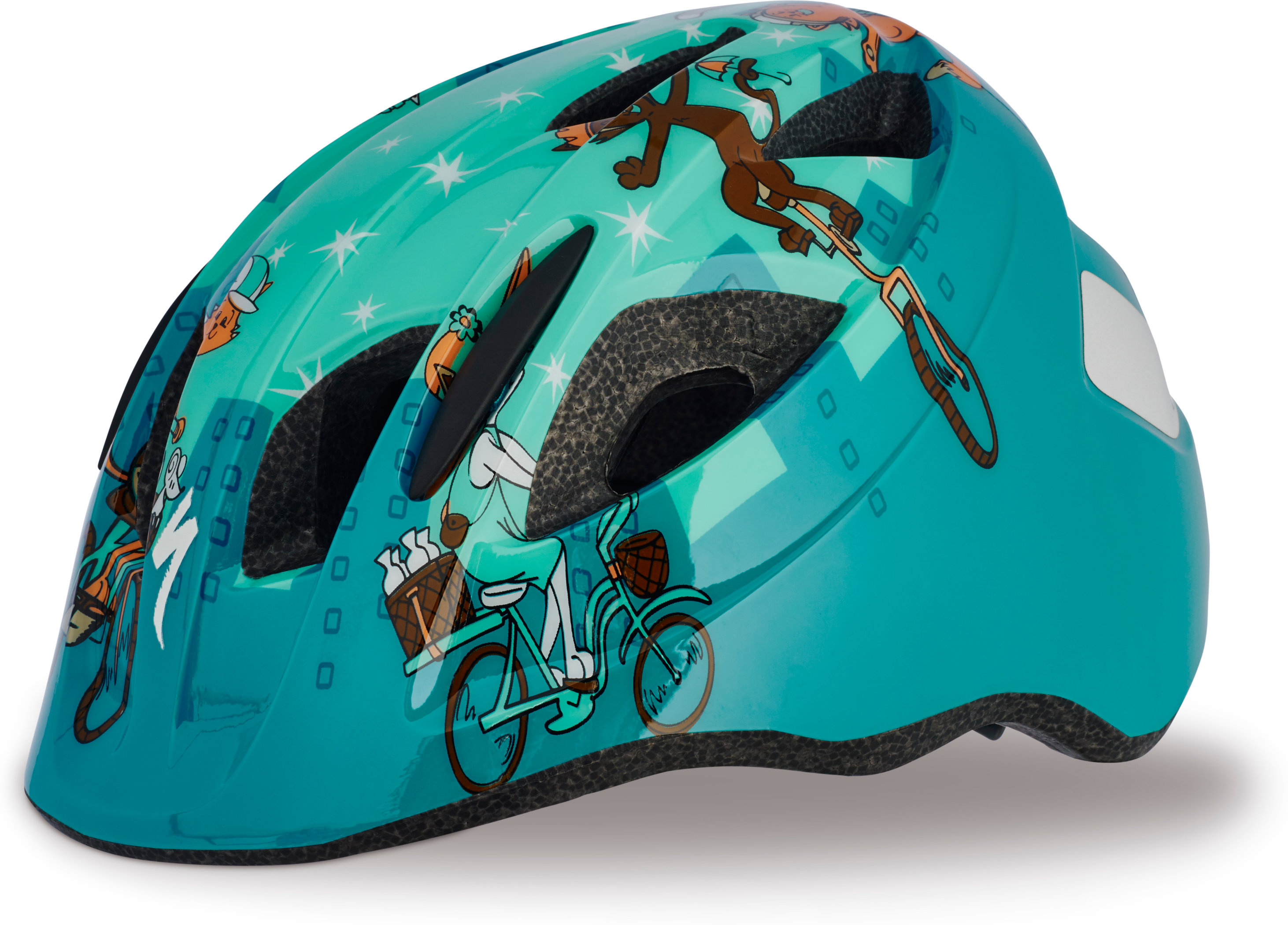 SPECIALIZED MIO HLMT CE TEAL CATS TDLR - Alpha Bikes