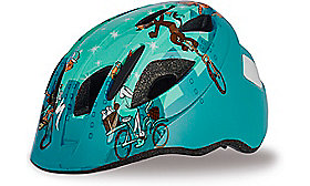 MIO HELMET CE TEAL CATS TODDLER