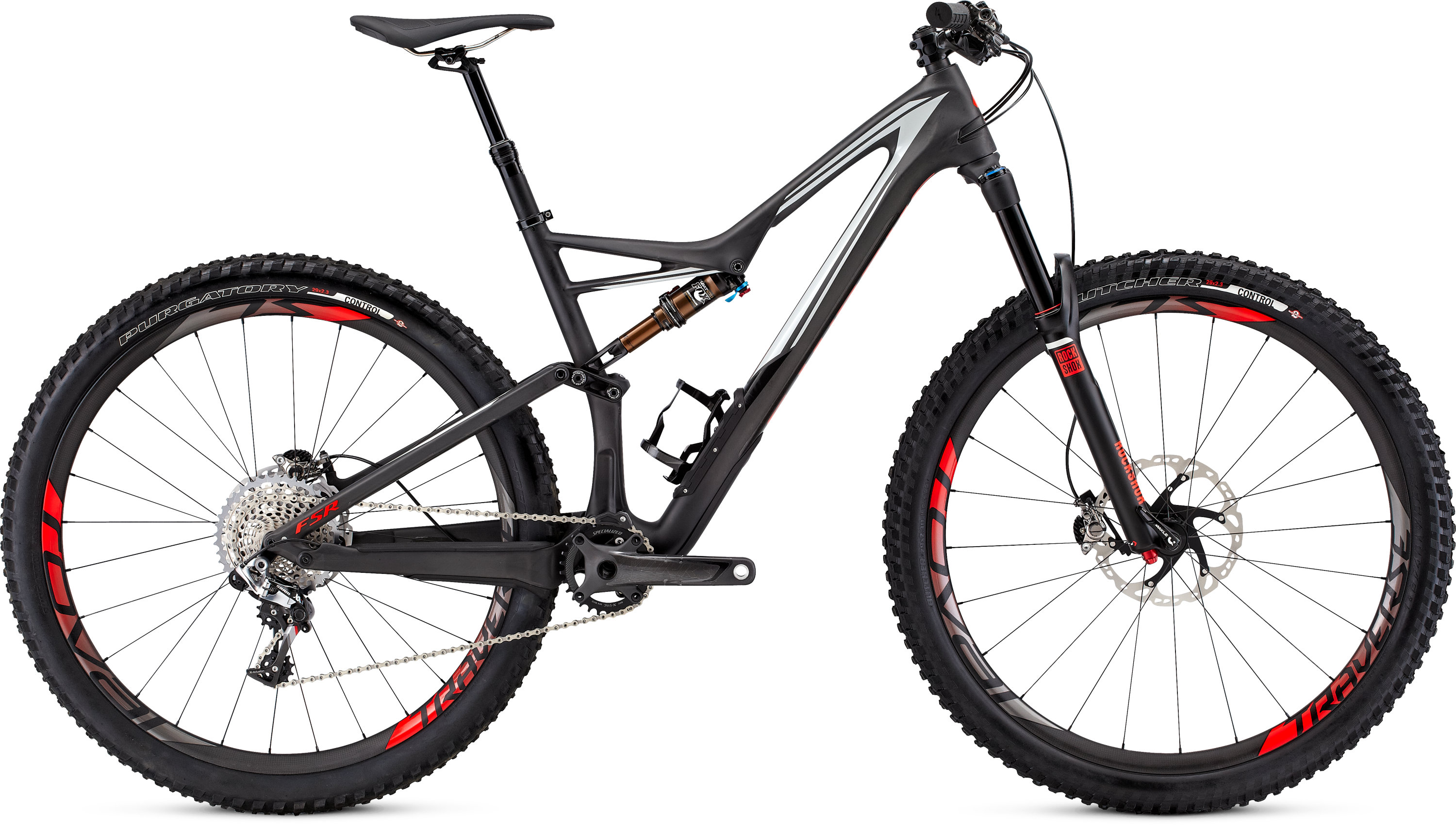 SPECIALIZED SW SJ FSR CARBON 29 CARB/DRTY WHT/RKTRED S - Bikedreams & Dustbikes