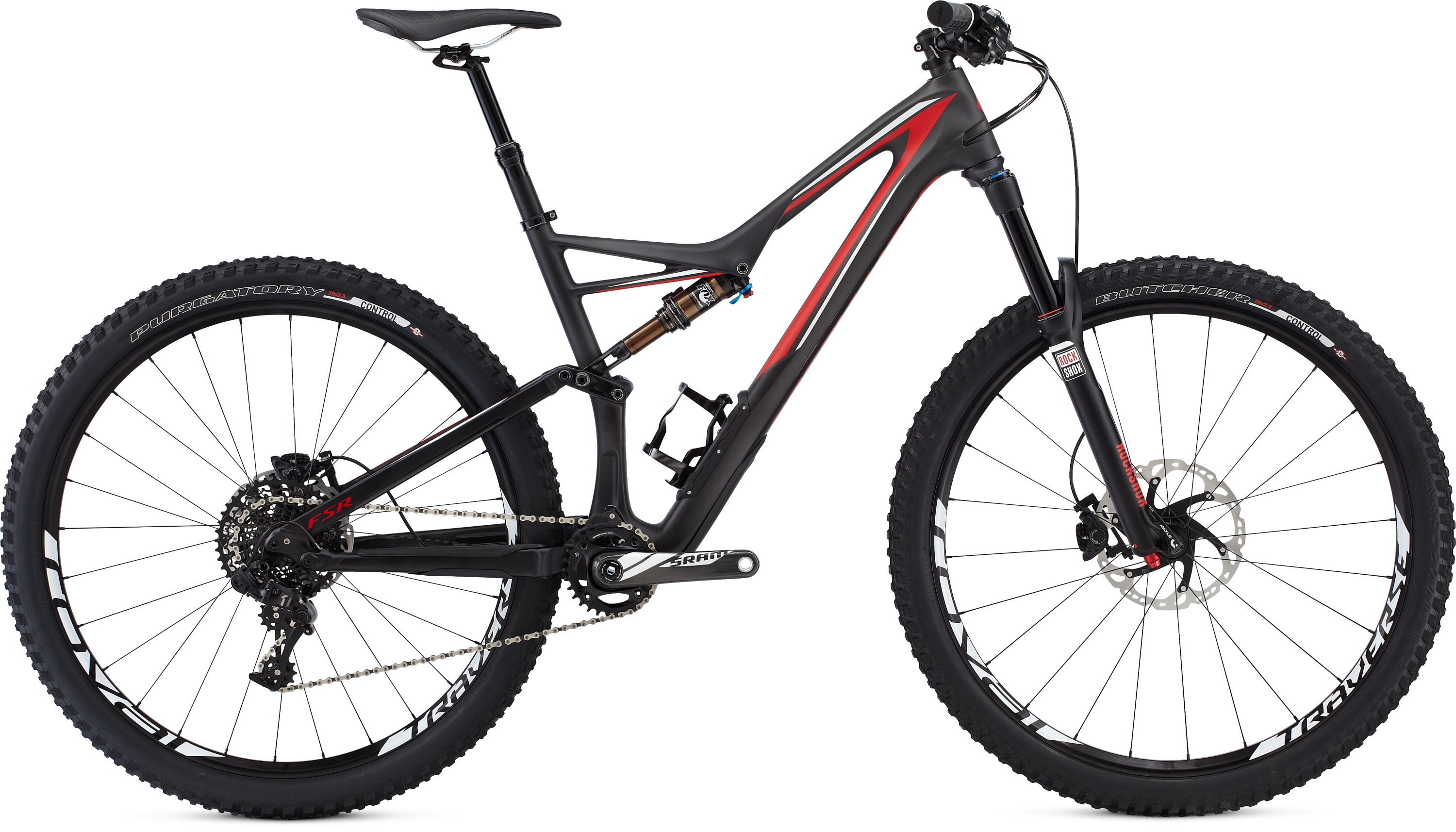 SPECIALIZED SJ FSR EXPERT CARBON 29 CARB/RED/WHT S - schneider-sports