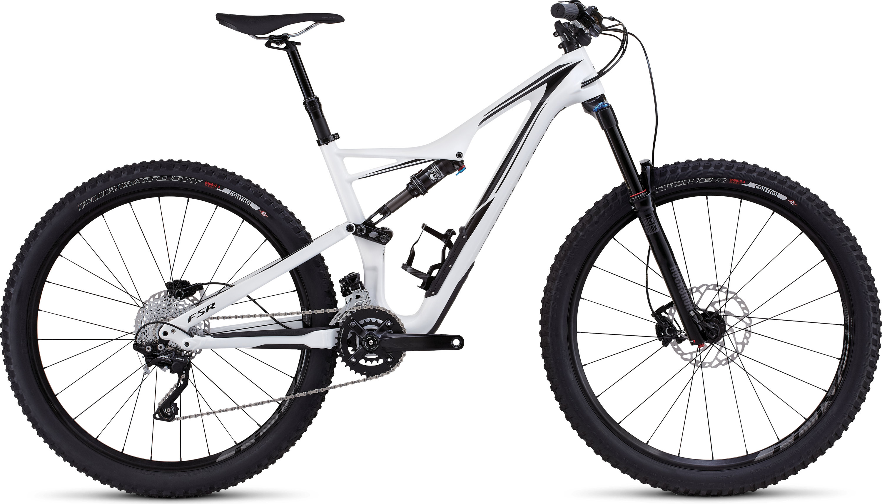 SPECIALIZED SJ FSR COMP CARBON 650B WHT/BLK S - schneider-sports
