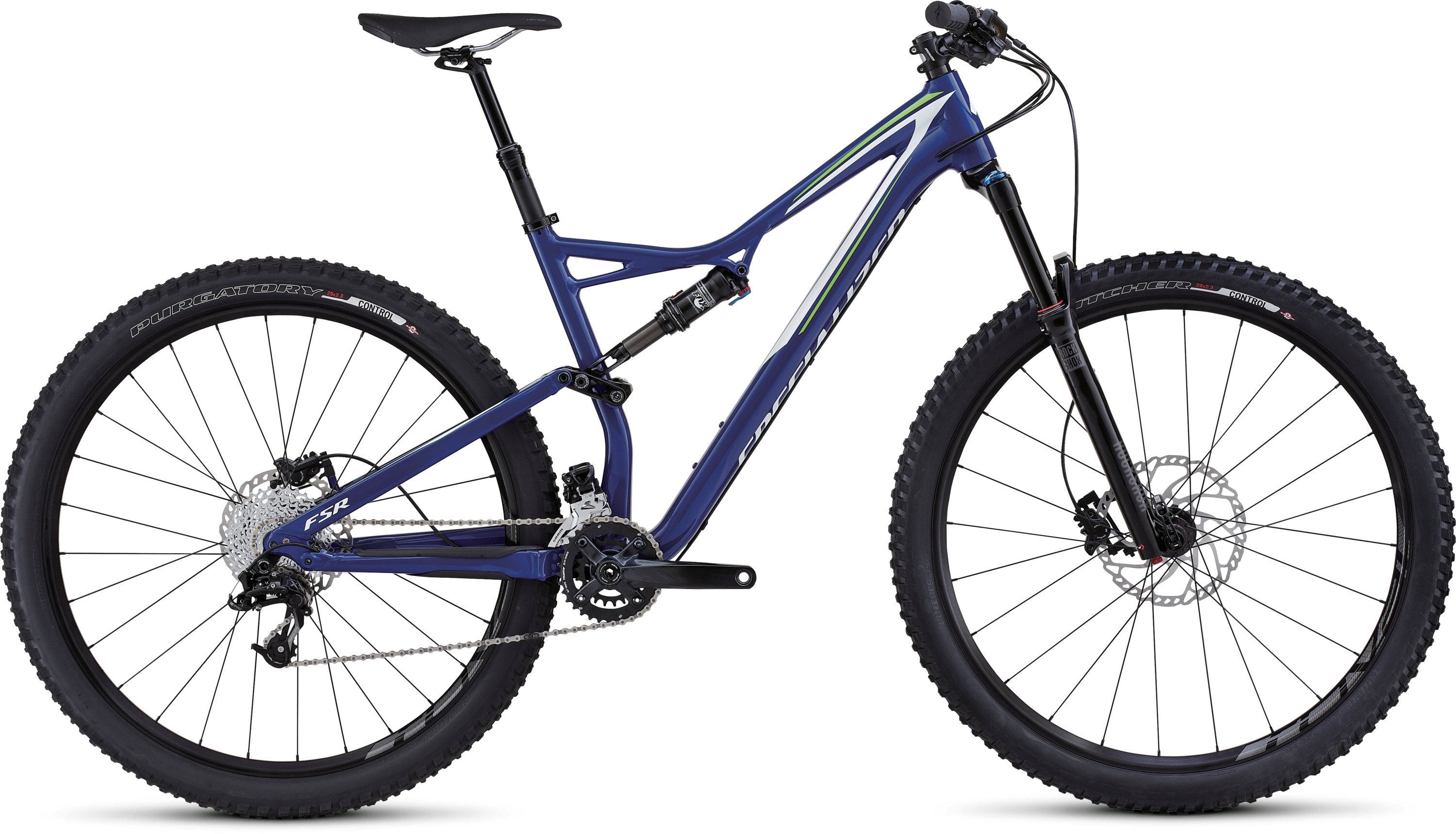SPECIALIZED SJ FSR COMP 29 DP BLU/MON GRN/WHT S - schneider-sports