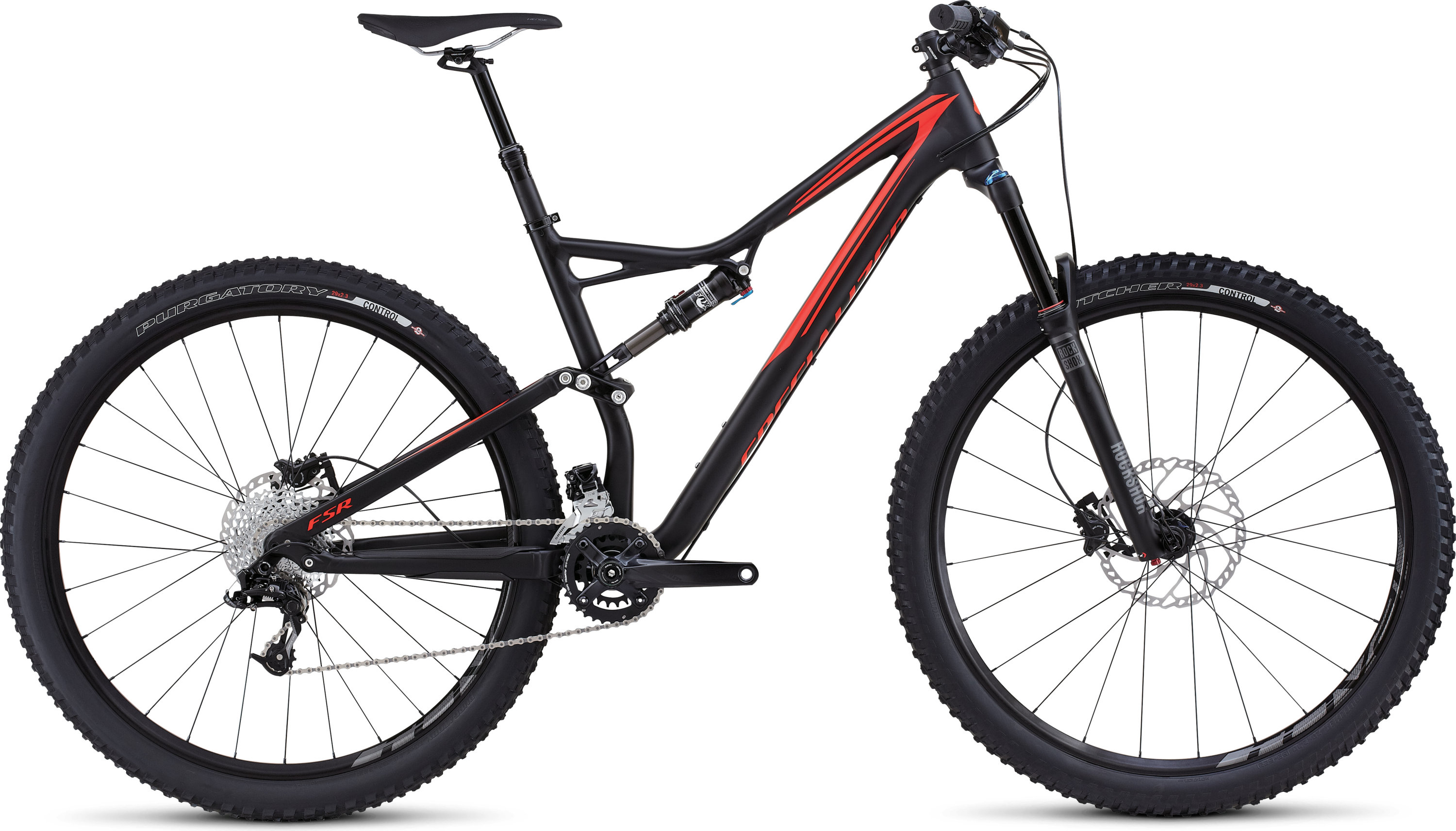 SPECIALIZED SJ FSR COMP 29 BLK/RKTRED M - Bike Maniac