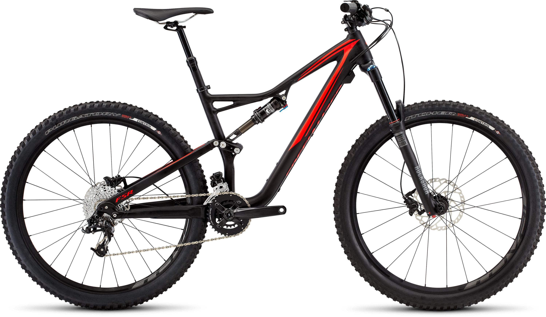 SPECIALIZED SJ FSR COMP 650B BLK/RKTRED S - Bikedreams & Dustbikes