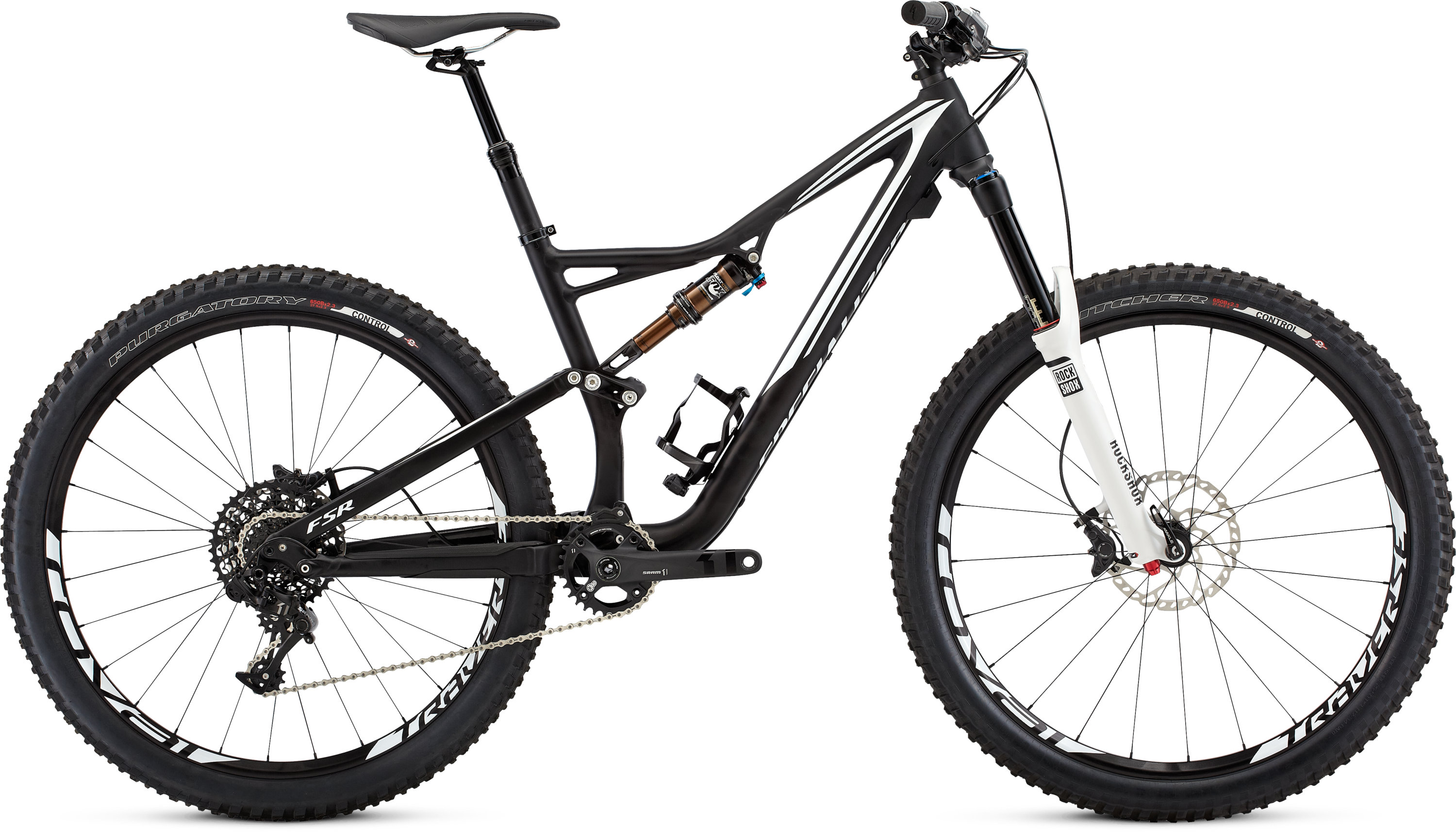 SPECIALIZED SJ FSR ELITE 650B BLK/WHT XL - schneider-sports